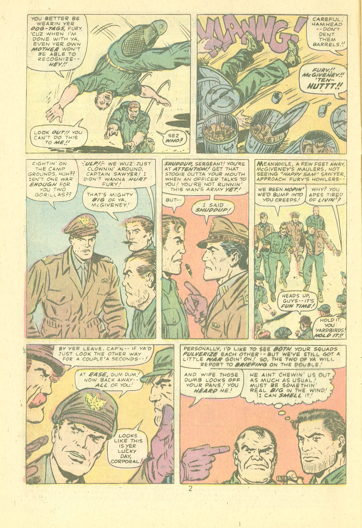 Read online Sgt. Fury comic -  Issue #124 - 4