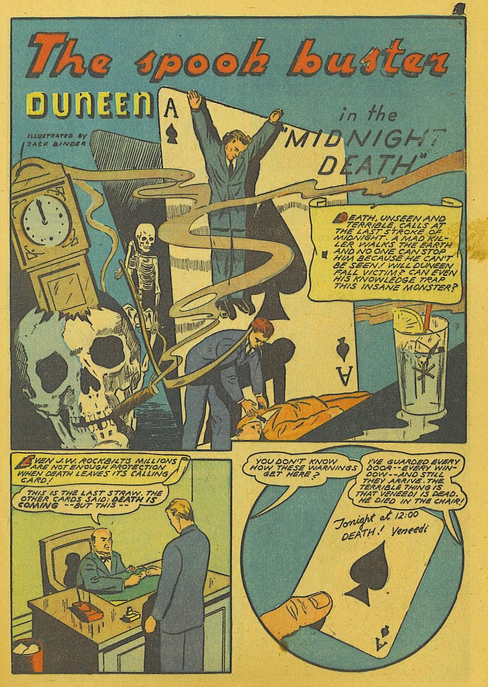 Read online Super-Magician Comics comic -  Issue #10 - 49