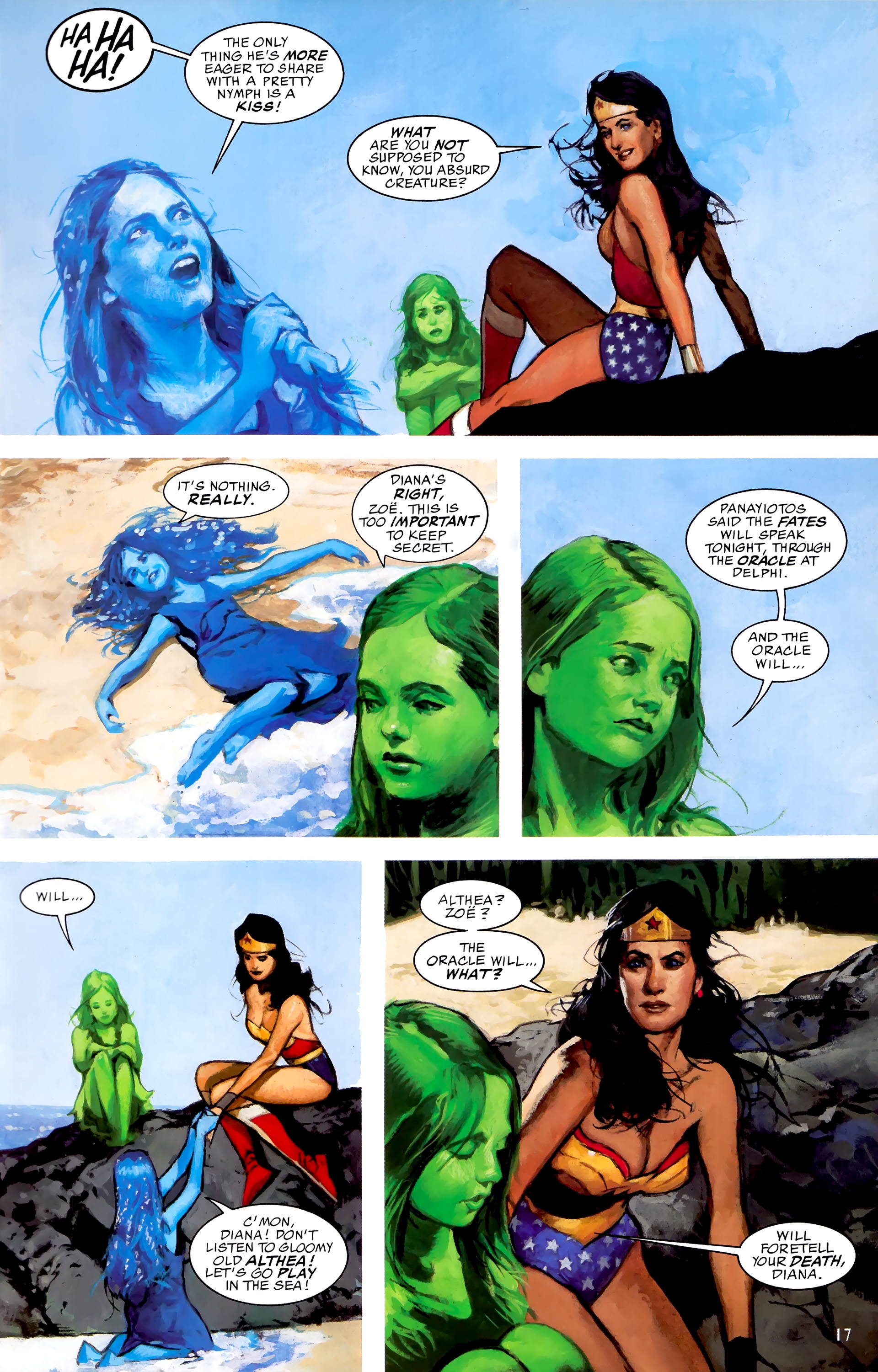 Read online JLA: A League of One comic -  Issue # Full - 24