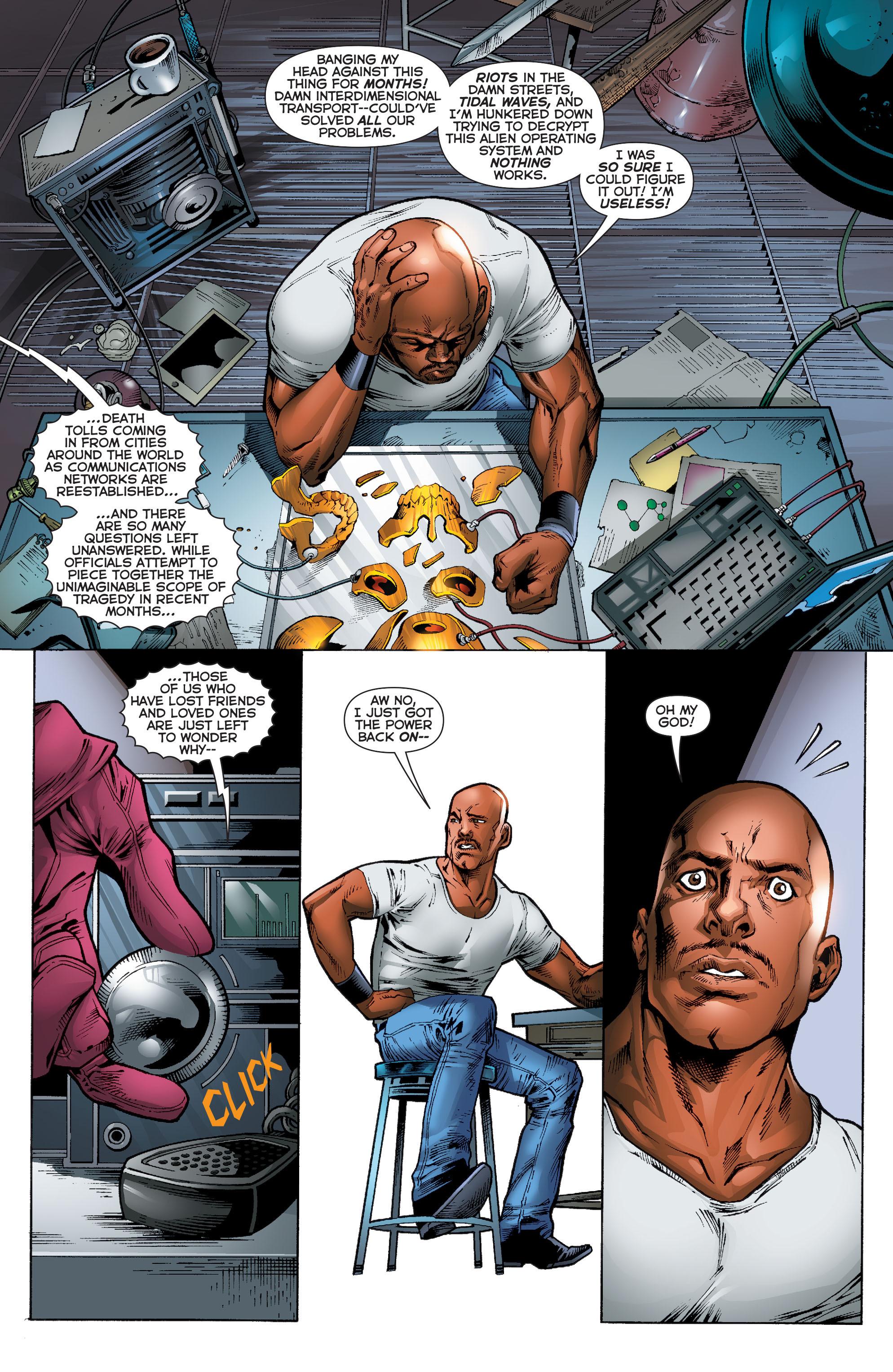 Read online Trinity of Sin: Pandora comic -  Issue #10 - 3