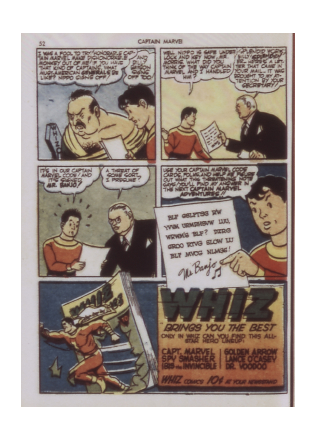 Captain Marvel Adventures issue 9 - Page 52