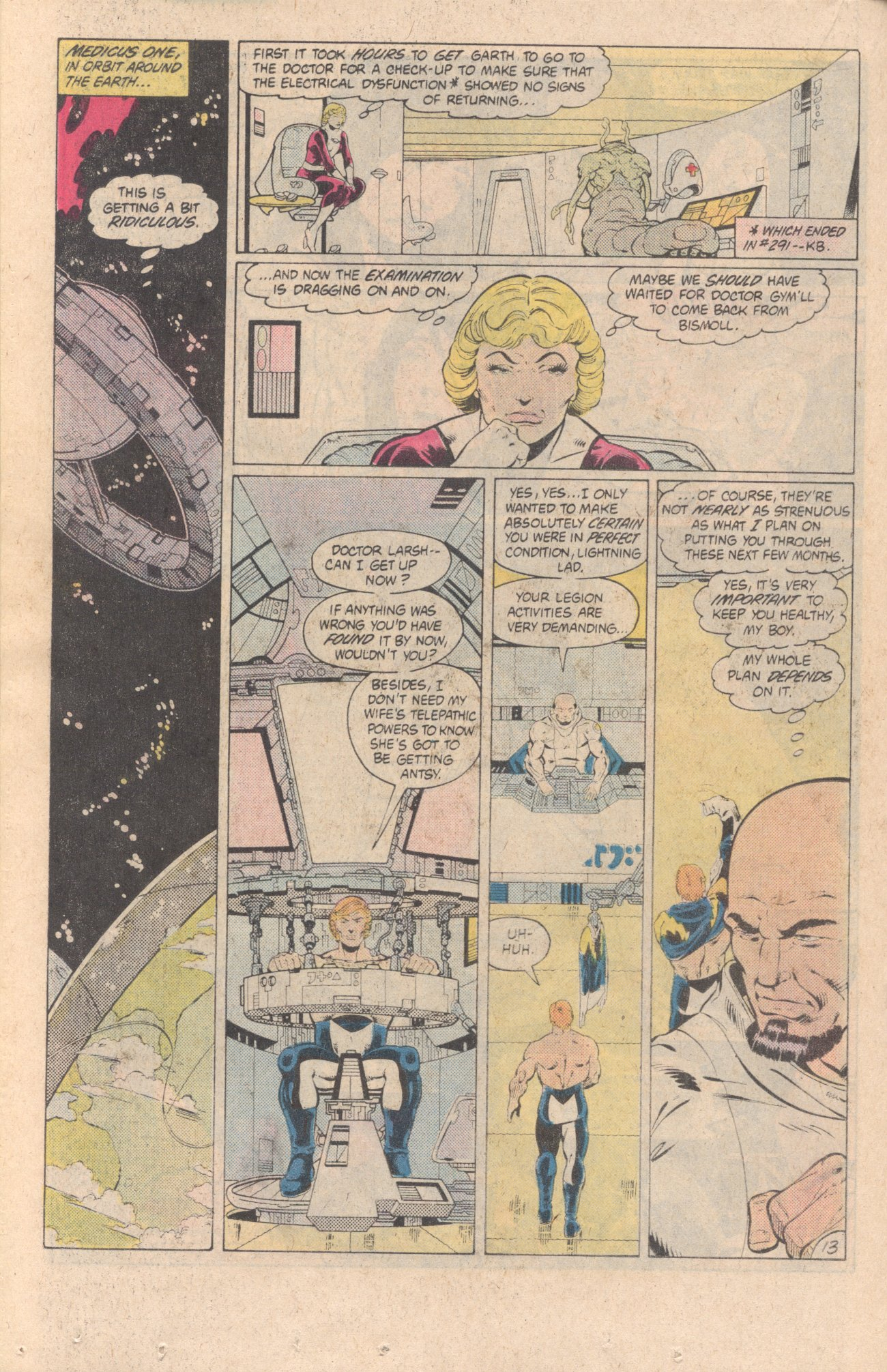 Legion of Super-Heroes (1980) 299 Page 13