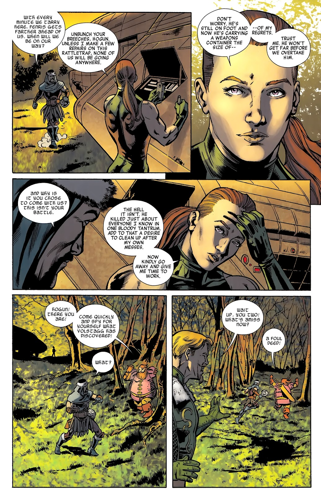 Warriors Three Issue #3 #3 - English 17