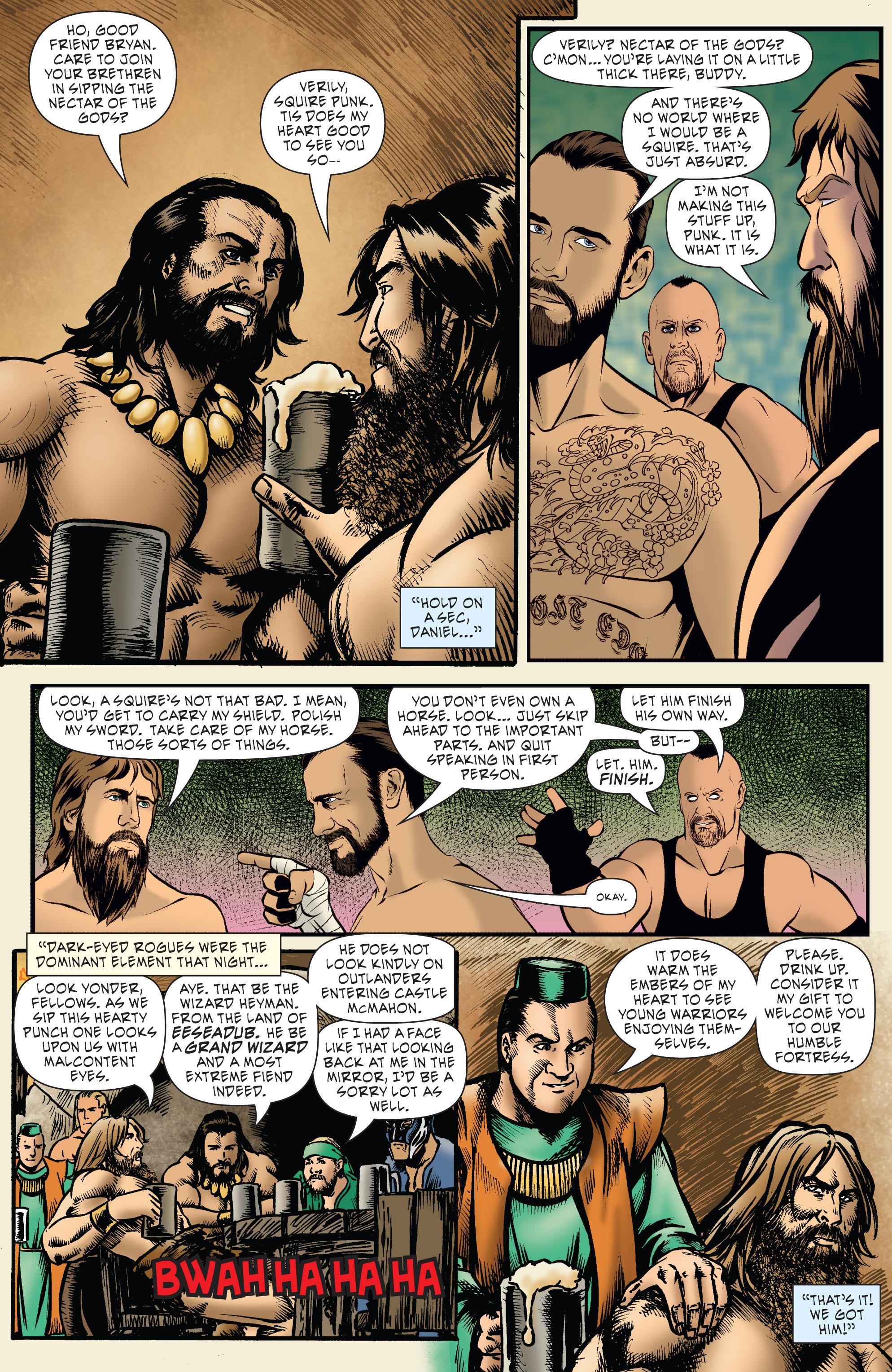 Read online WWE Superstars comic -  Issue #7 - 11