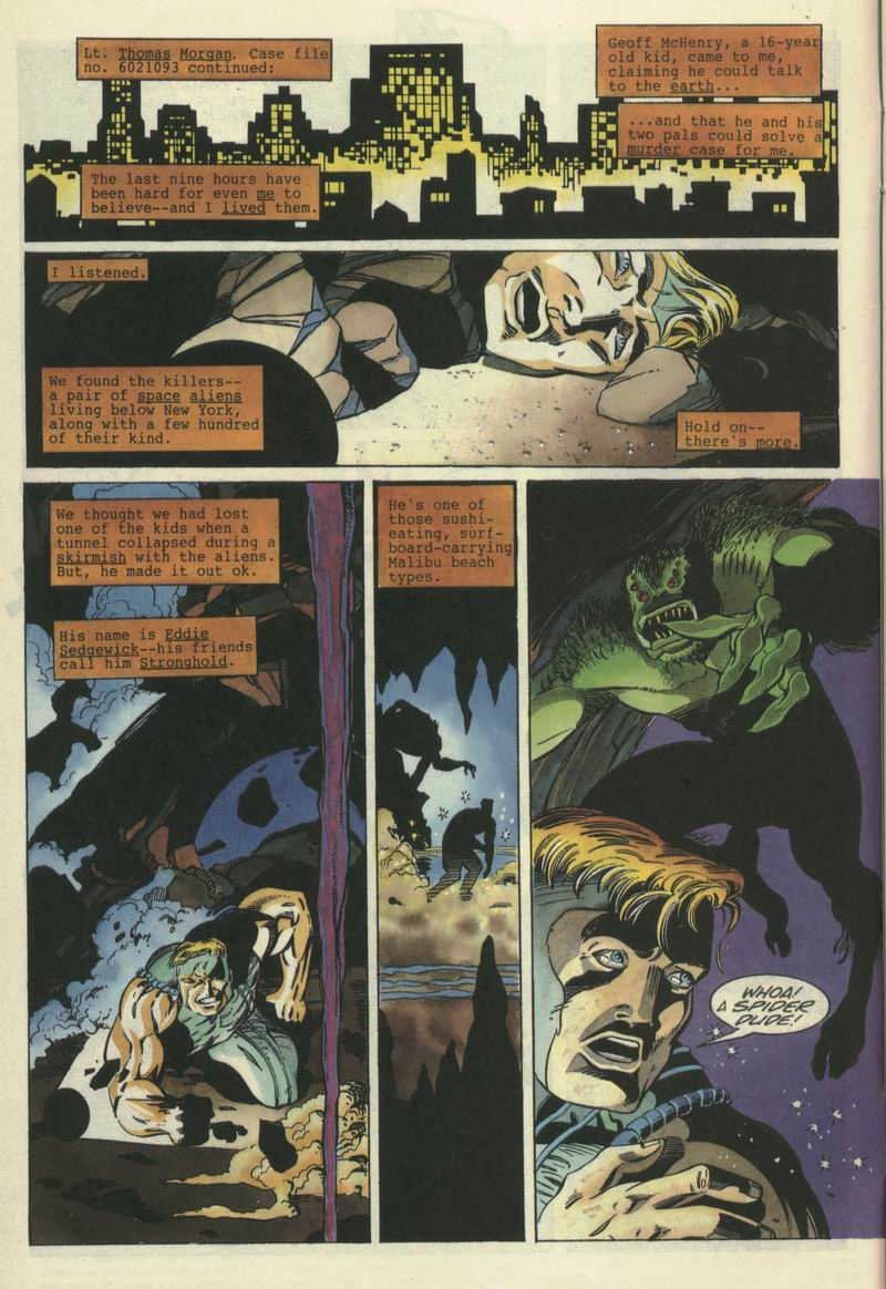 Read online Secret Weapons comic -  Issue #7 - 5