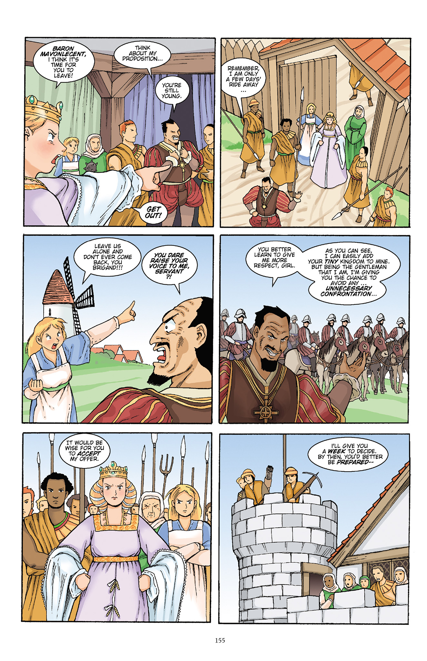 Read online Courageous Princess comic -  Issue # TPB 1 - 154