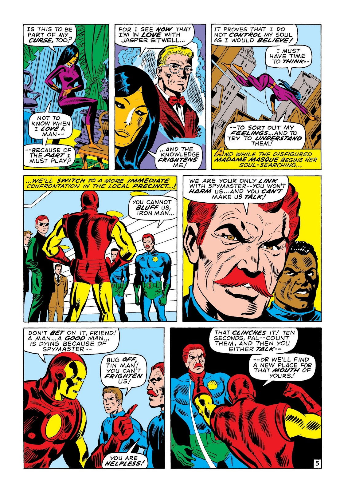Read online Marvel Masterworks: The Invincible Iron Man comic -  Issue # TPB 7 (Part 2) - 94