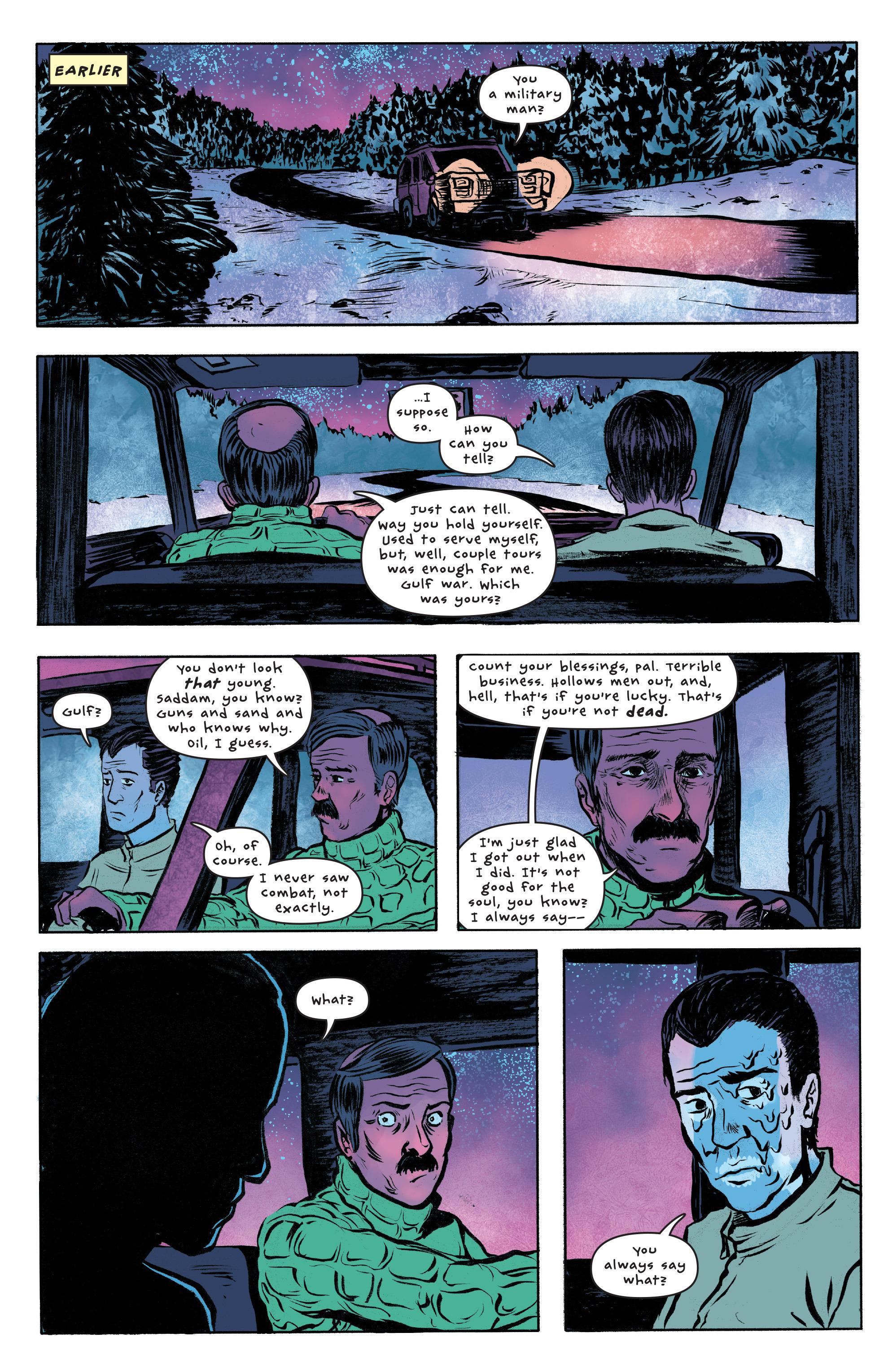 Read online UFOlogy comic -  Issue #3 - 11
