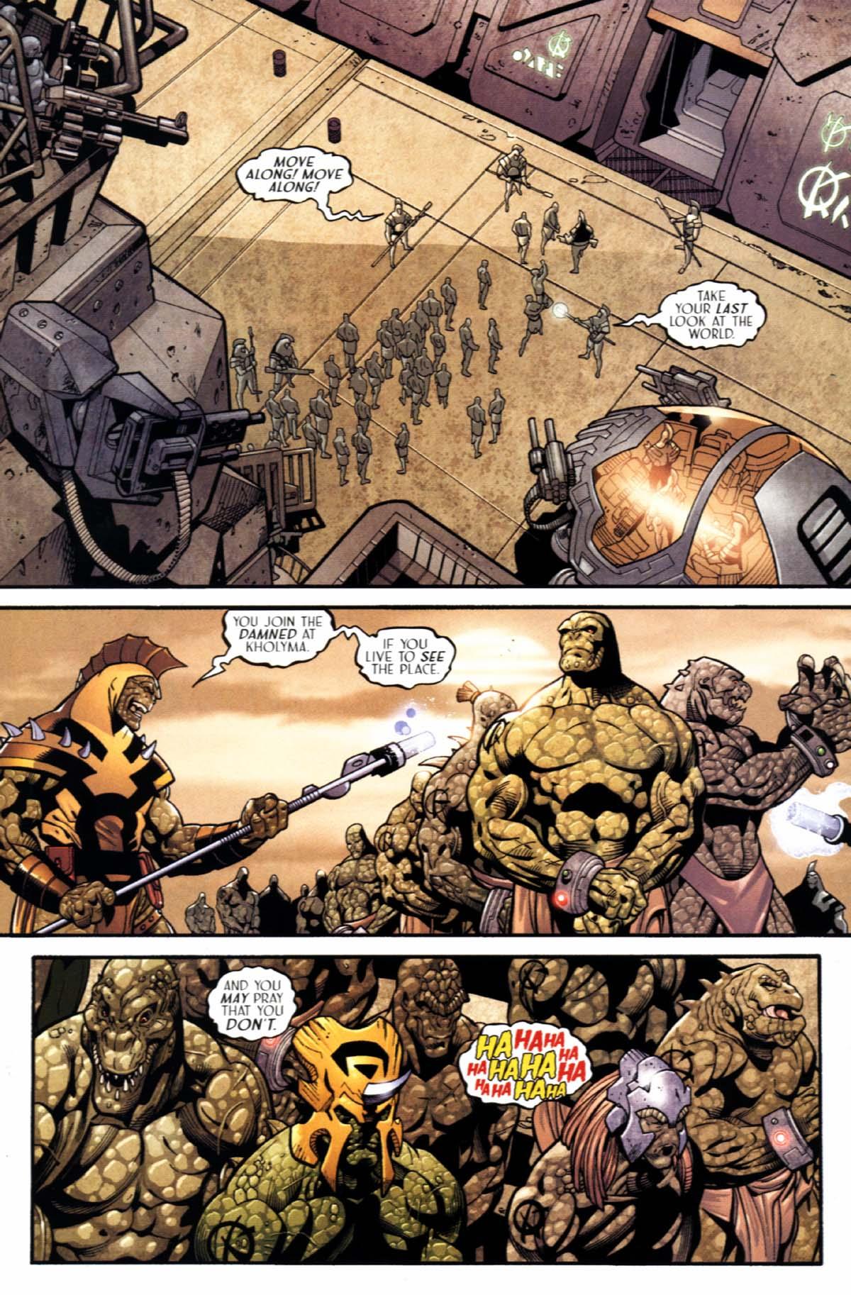 Read online Sigil (2000) comic -  Issue #22 - 25