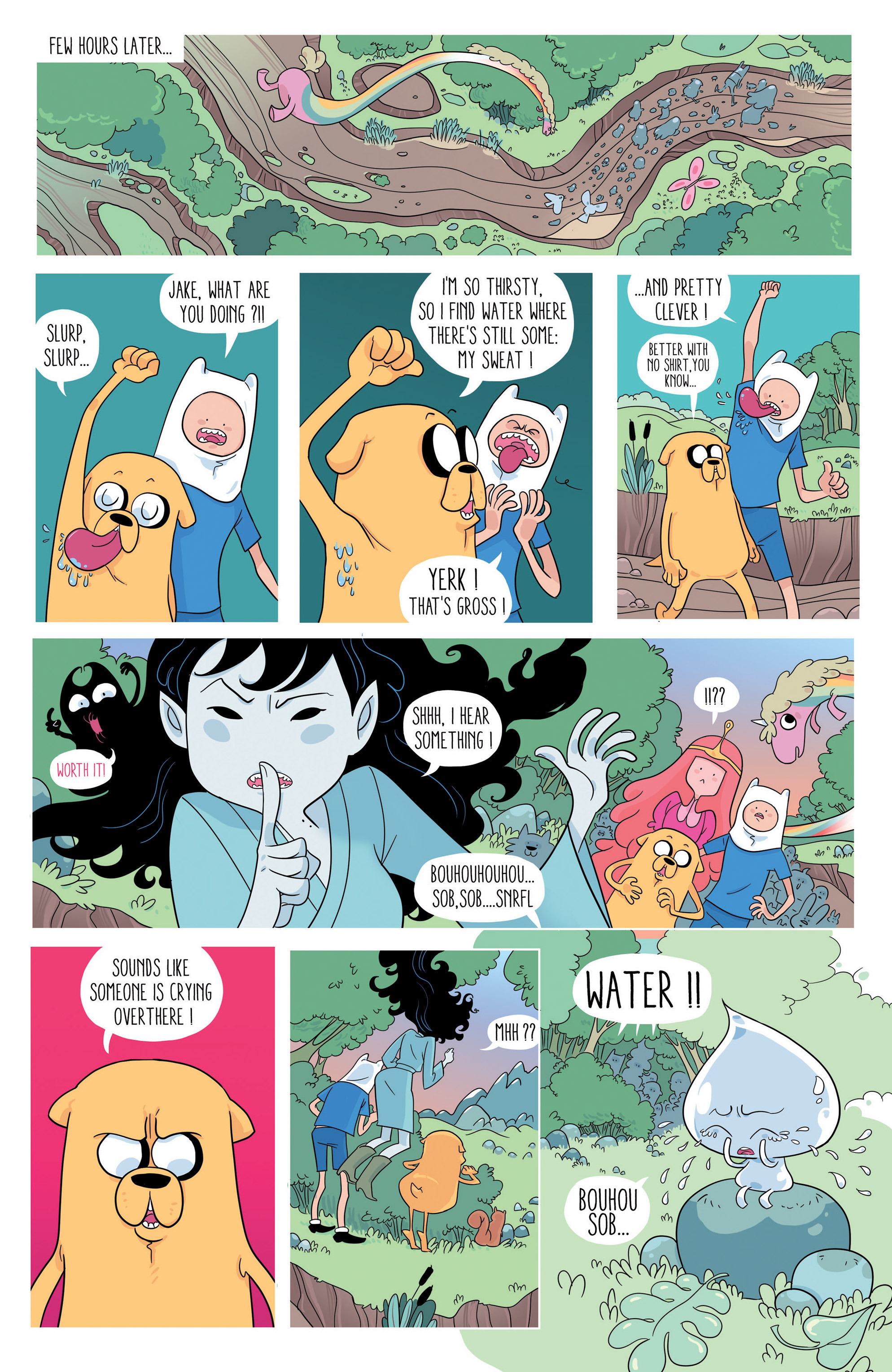 Read online Adventure Time comic -  Issue #46 - 20