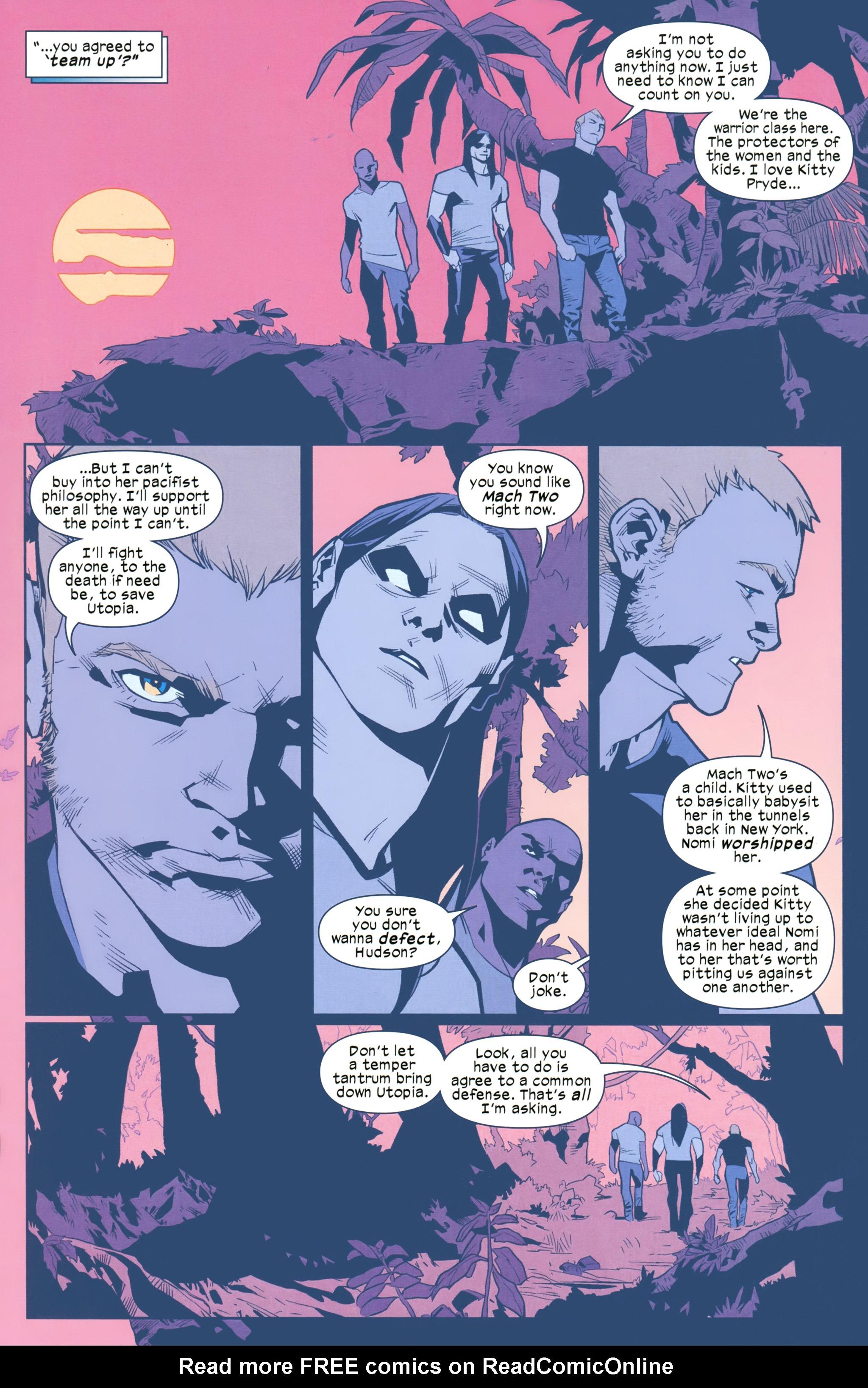 Read online Ultimate Comics X-Men comic -  Issue #25 - 12