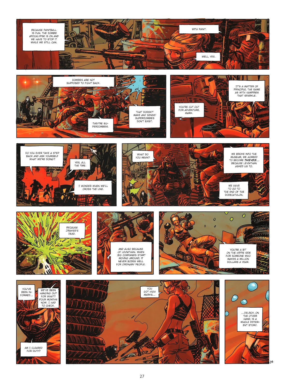 Read online Cutting Edge (2013) comic -  Issue #3 - 25