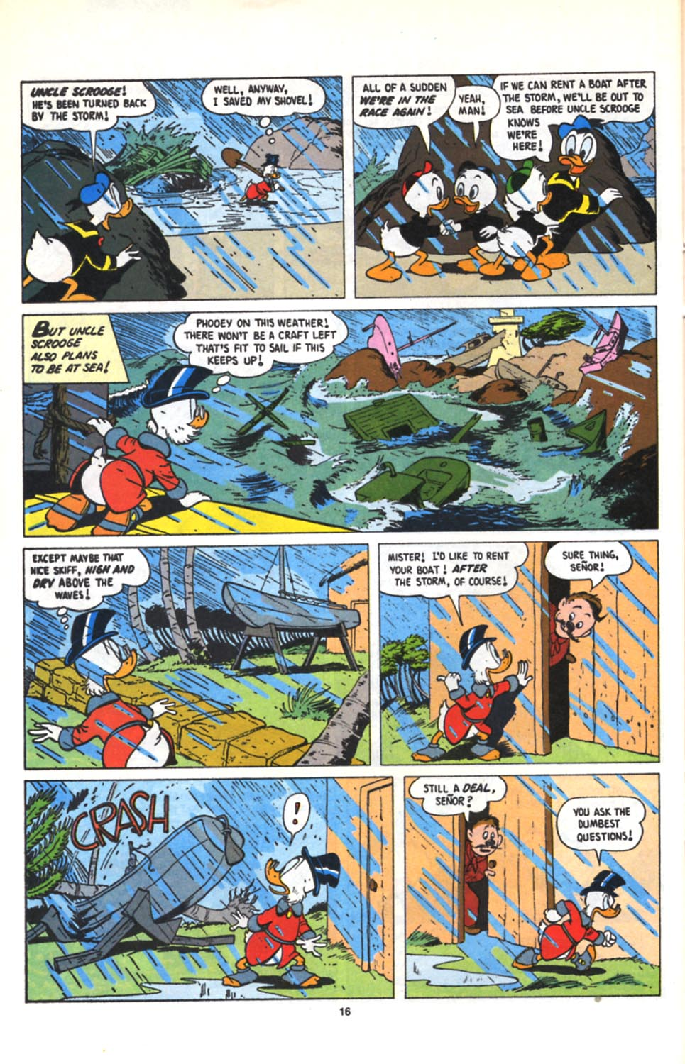 Read online Uncle Scrooge (1953) comic -  Issue #279 - 17