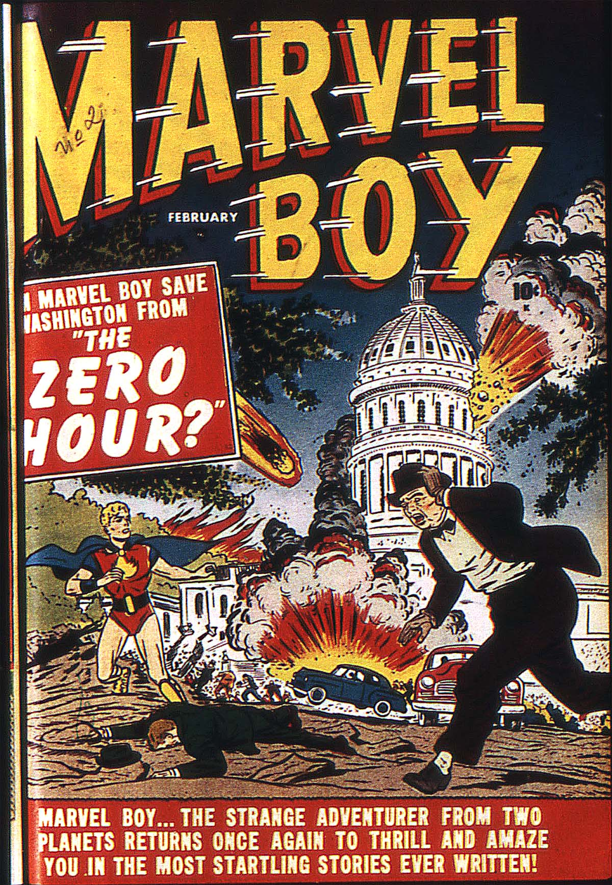 Read online Marvel Boy (1950) comic -  Issue #2 - 2