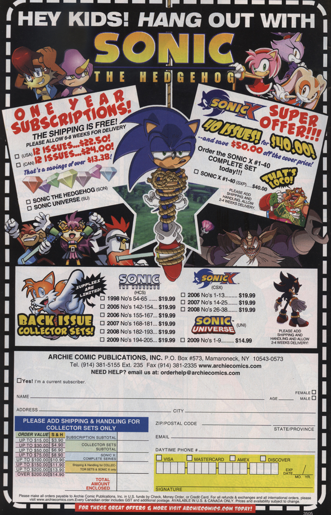 Read online Sonic Universe comic -  Issue #28 - 32