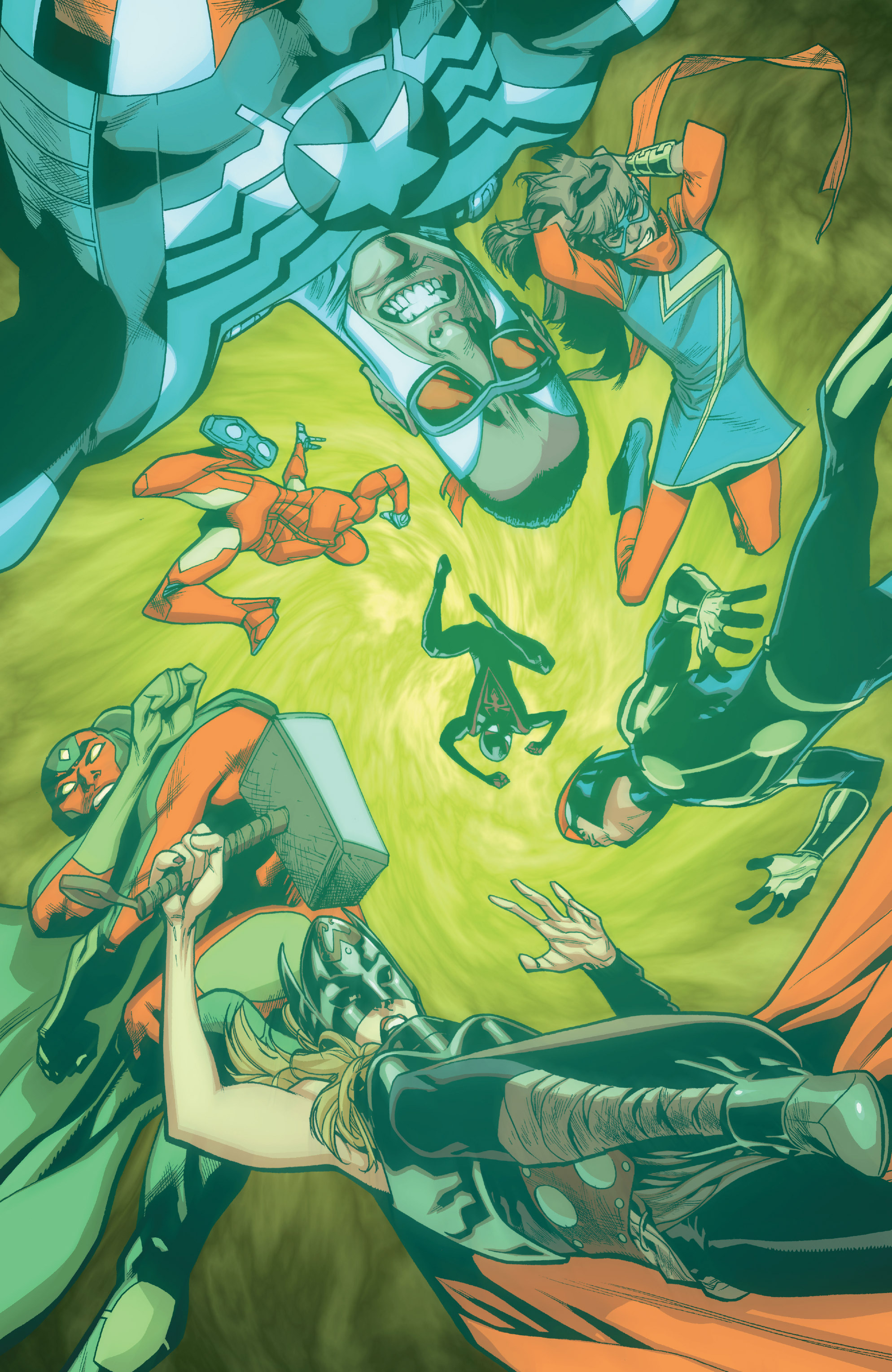 Read online All-New, All-Different Avengers comic -  Issue #10 - 18