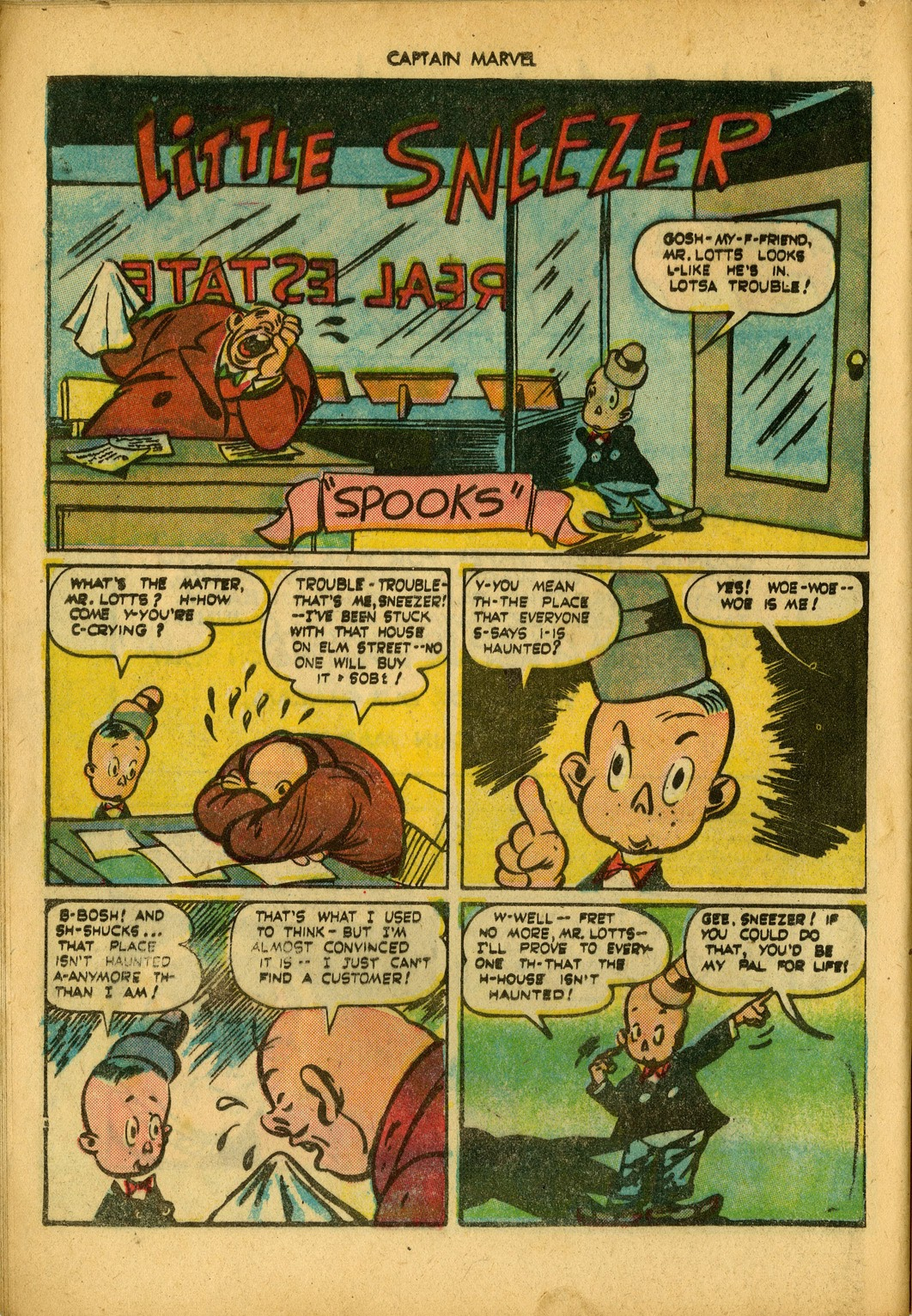 Captain Marvel Adventures issue 34 - Page 16
