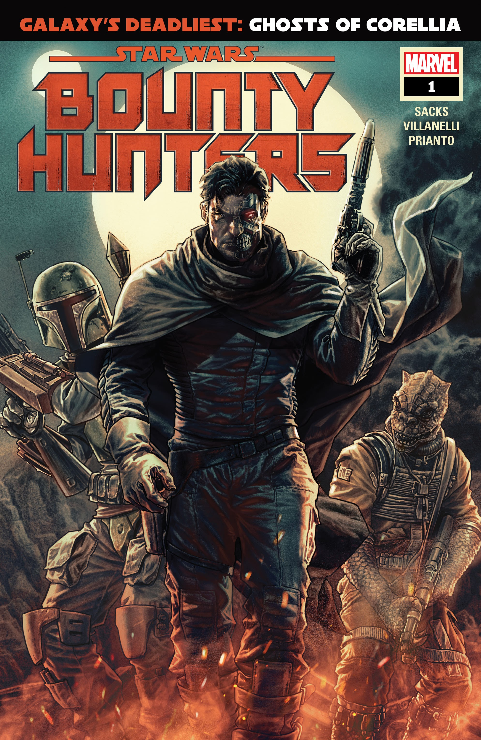 Star Wars: Bounty Hunters 1 Page 1