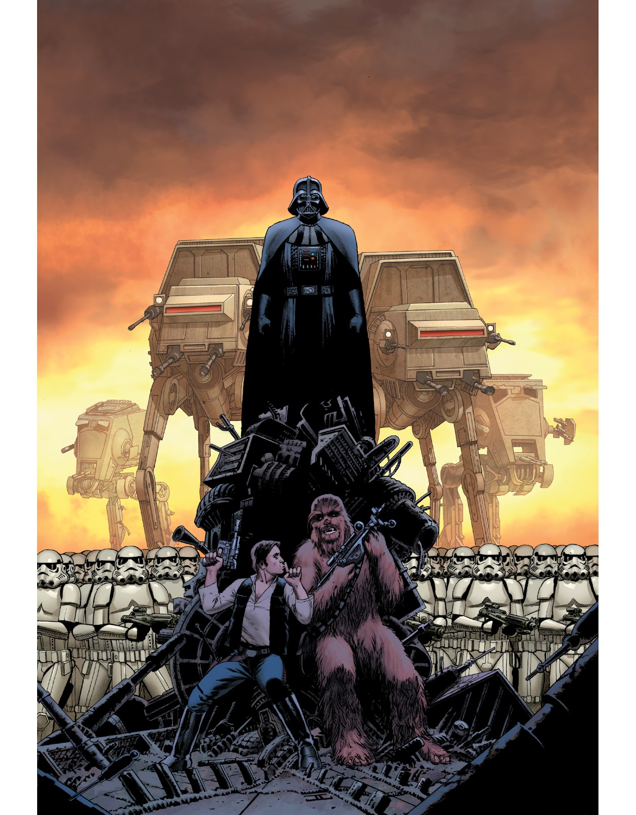 Read online The Marvel Art of Star Wars comic -  Issue # TPB (Part 1) - 18