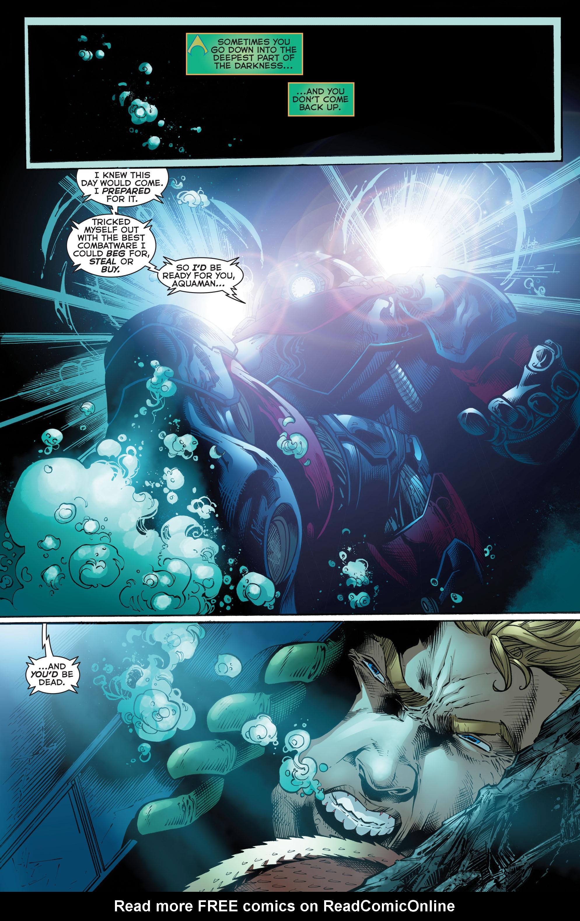 Read online Aquaman (2011) comic -  Issue #52 - 4