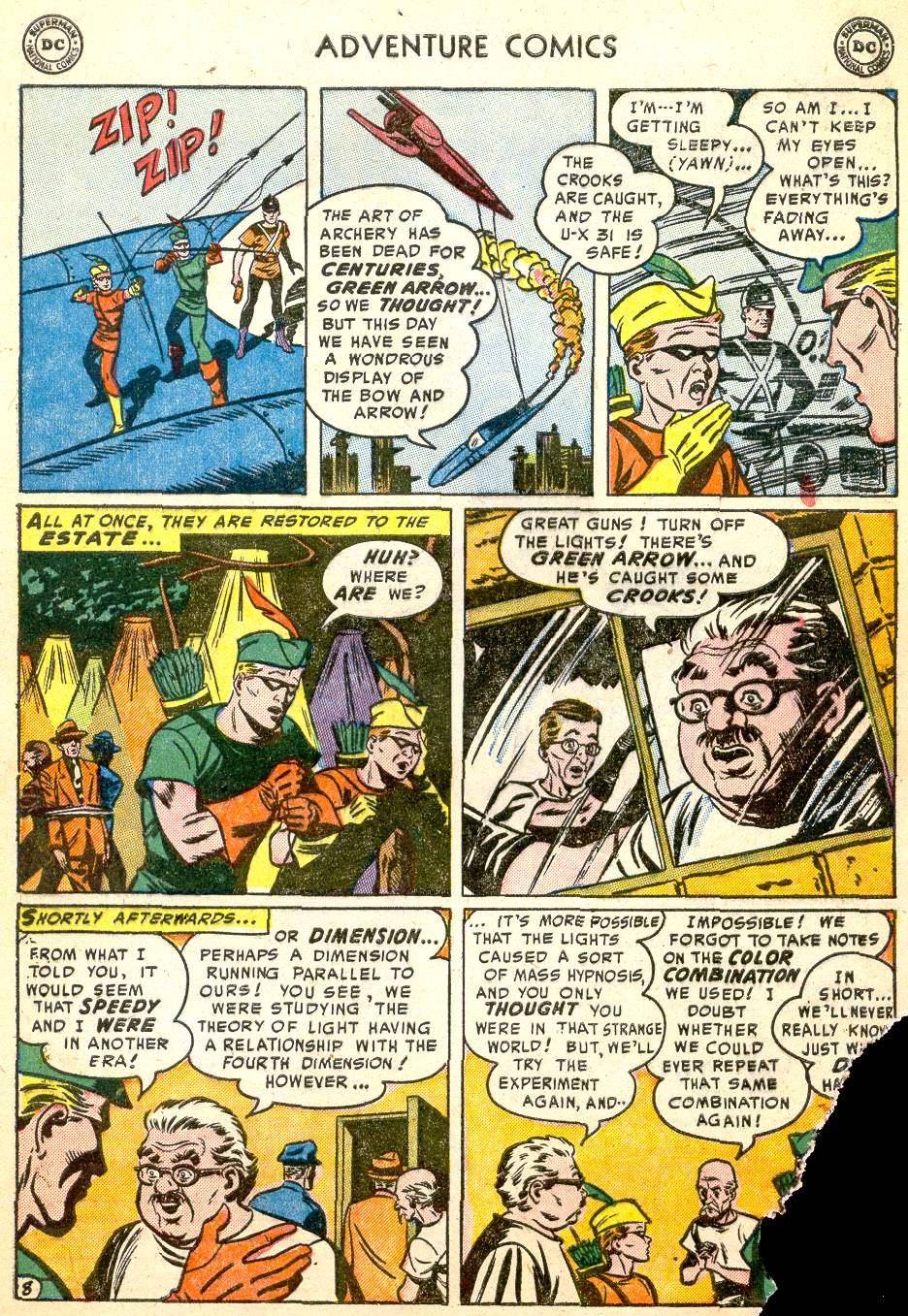Read online Adventure Comics (1938) comic -  Issue #194 - 41