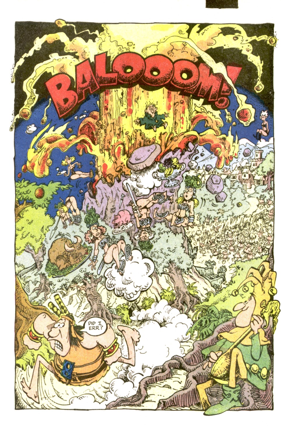 Read online Sergio Aragonés Groo the Wanderer comic -  Issue #2 - 21