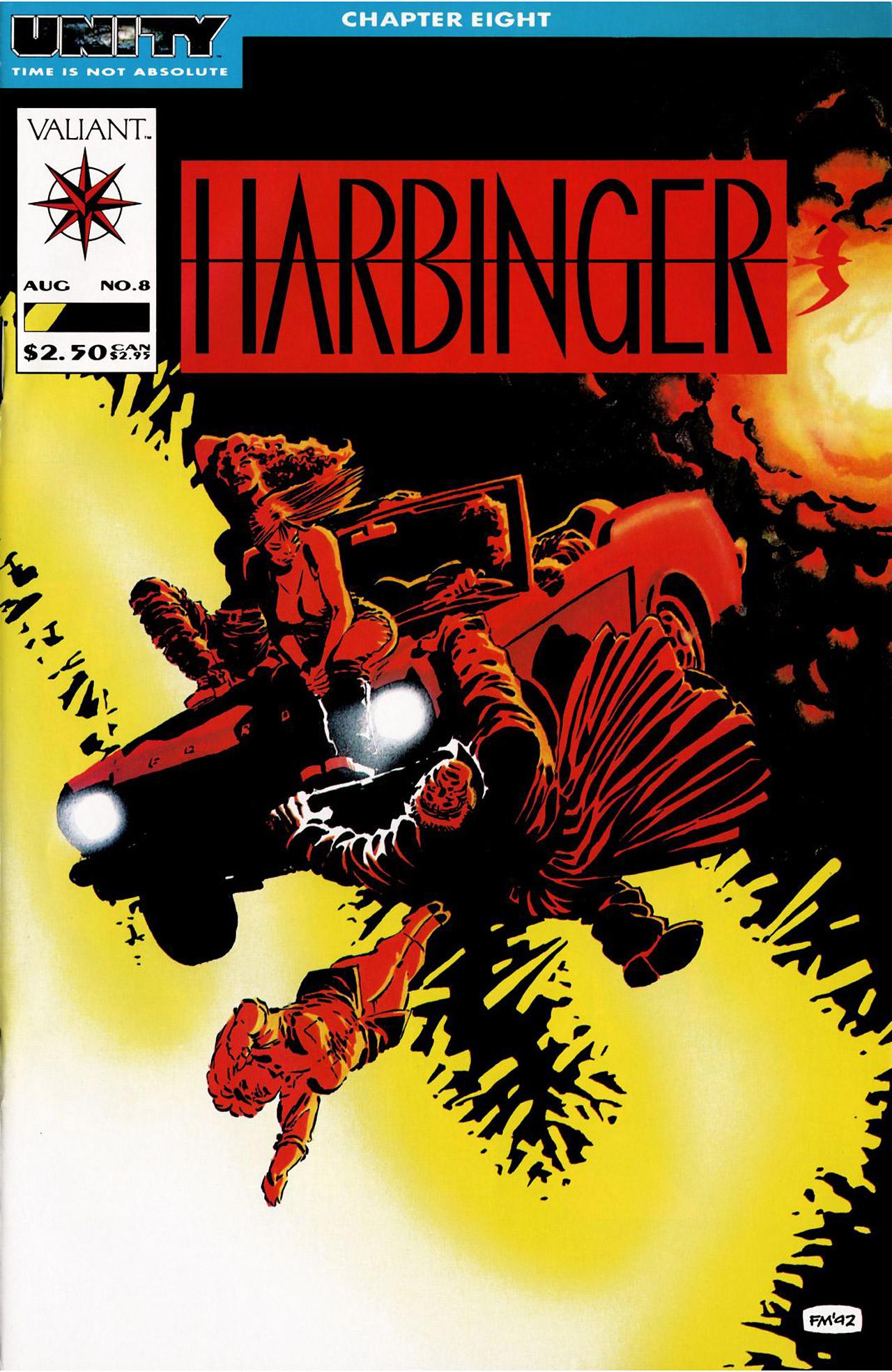 Read online Harbinger (1992) comic -  Issue #8 - 1