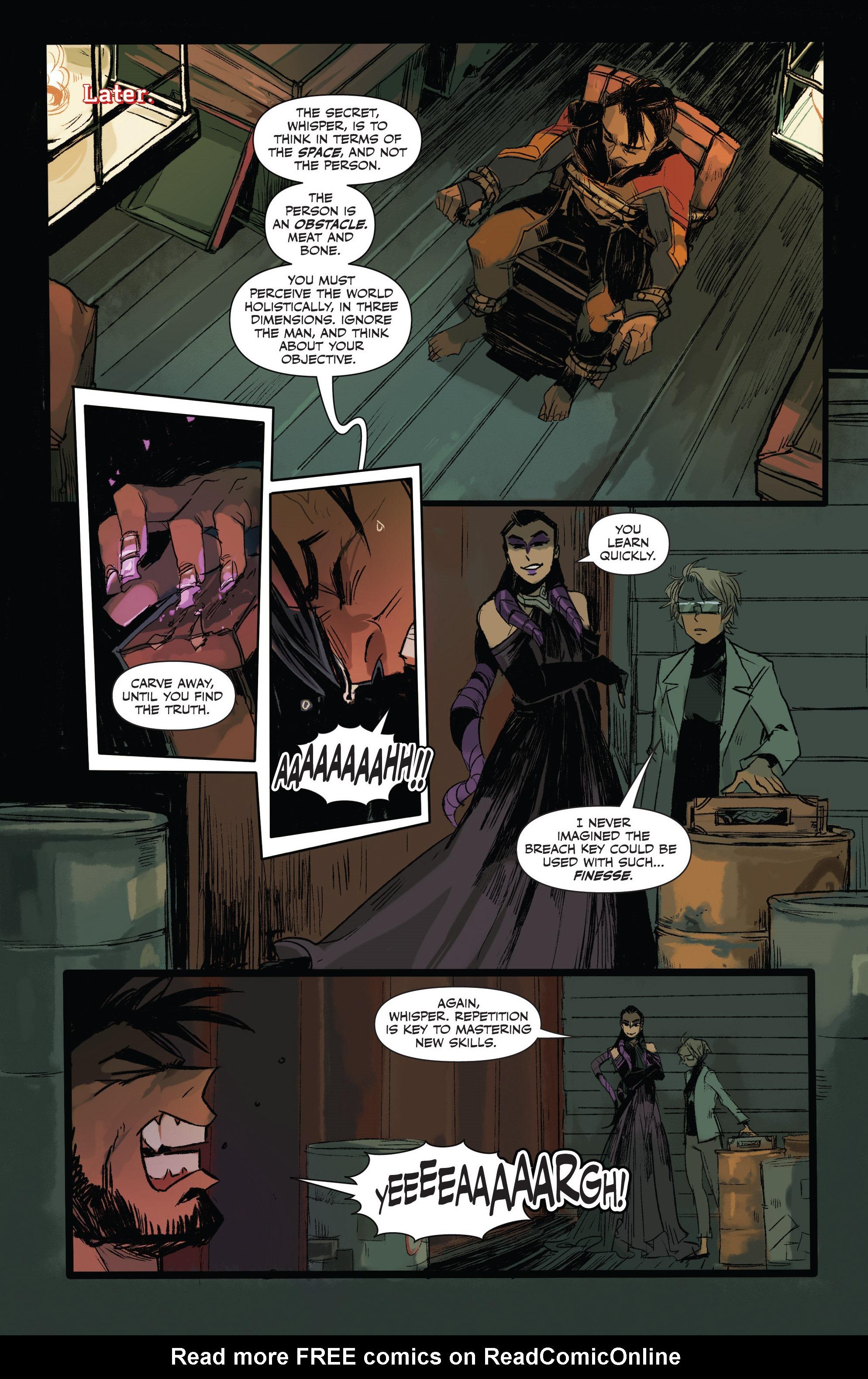 Read online Freelance comic -  Issue #3 - 12