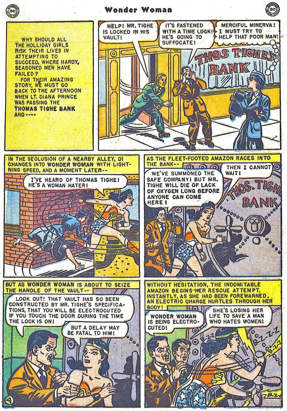 Read online Wonder Woman (1942) comic -  Issue #38 - 40