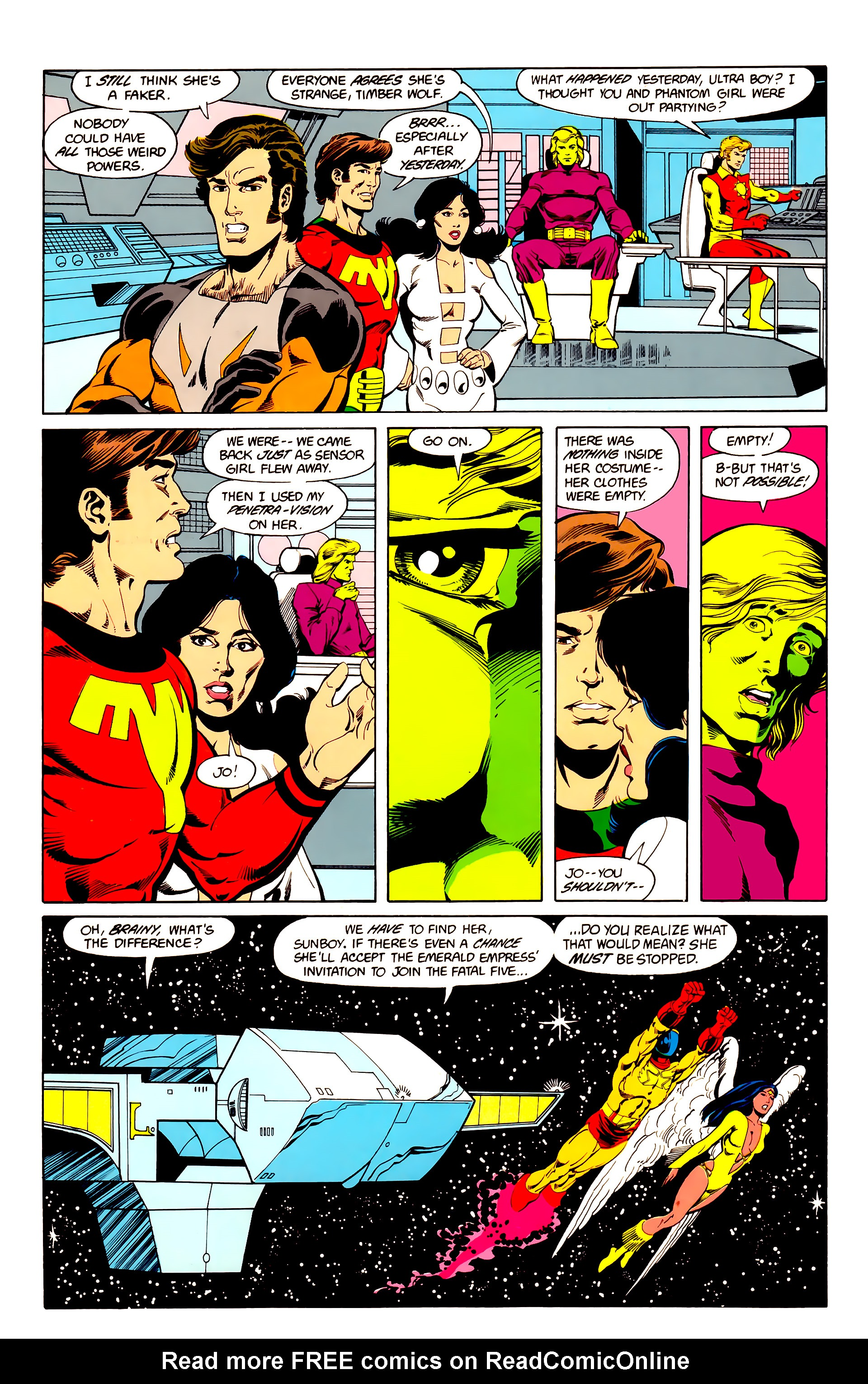 Legion of Super-Heroes (1984) 25 Page 5