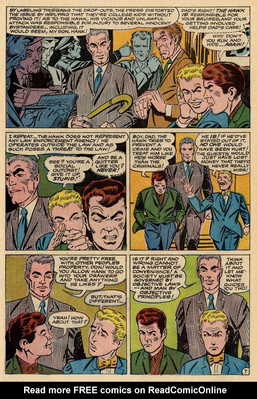 The Hawk and the Dove issue 1 - Page 10