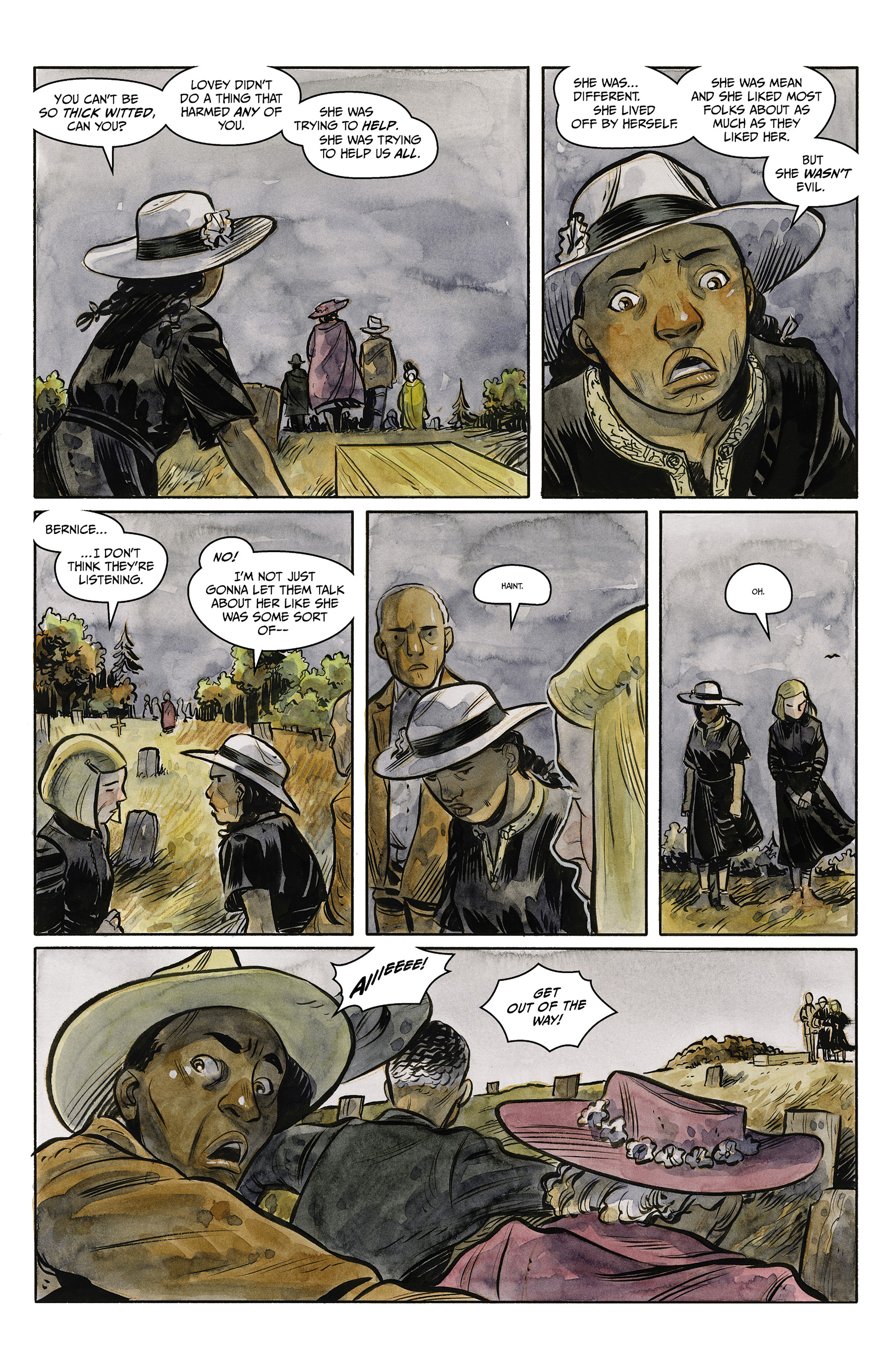 Read online Harrow County comic -  Issue #23 - 6