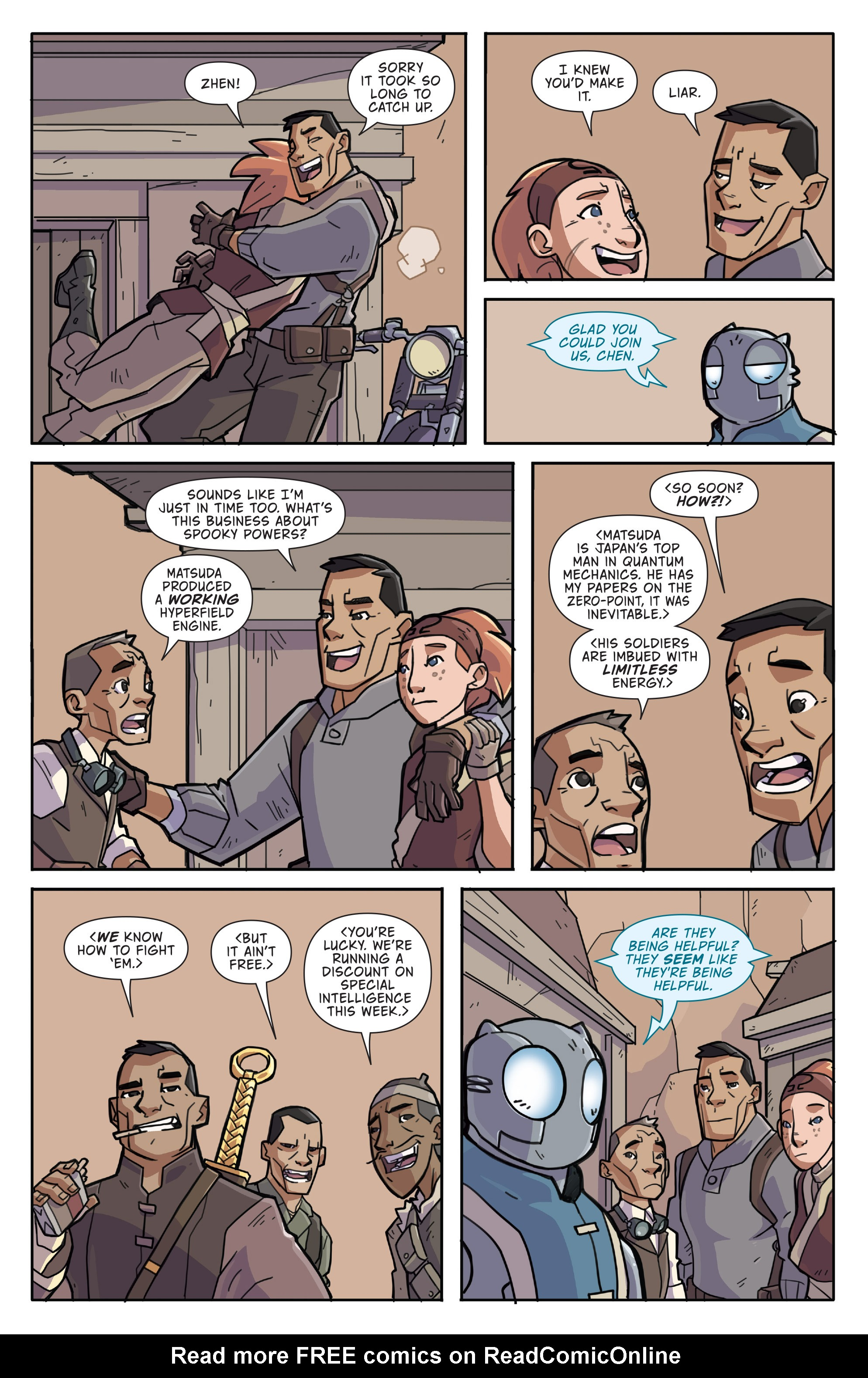 Read online Atomic Robo and the Temple of Od comic -  Issue #3 - 10