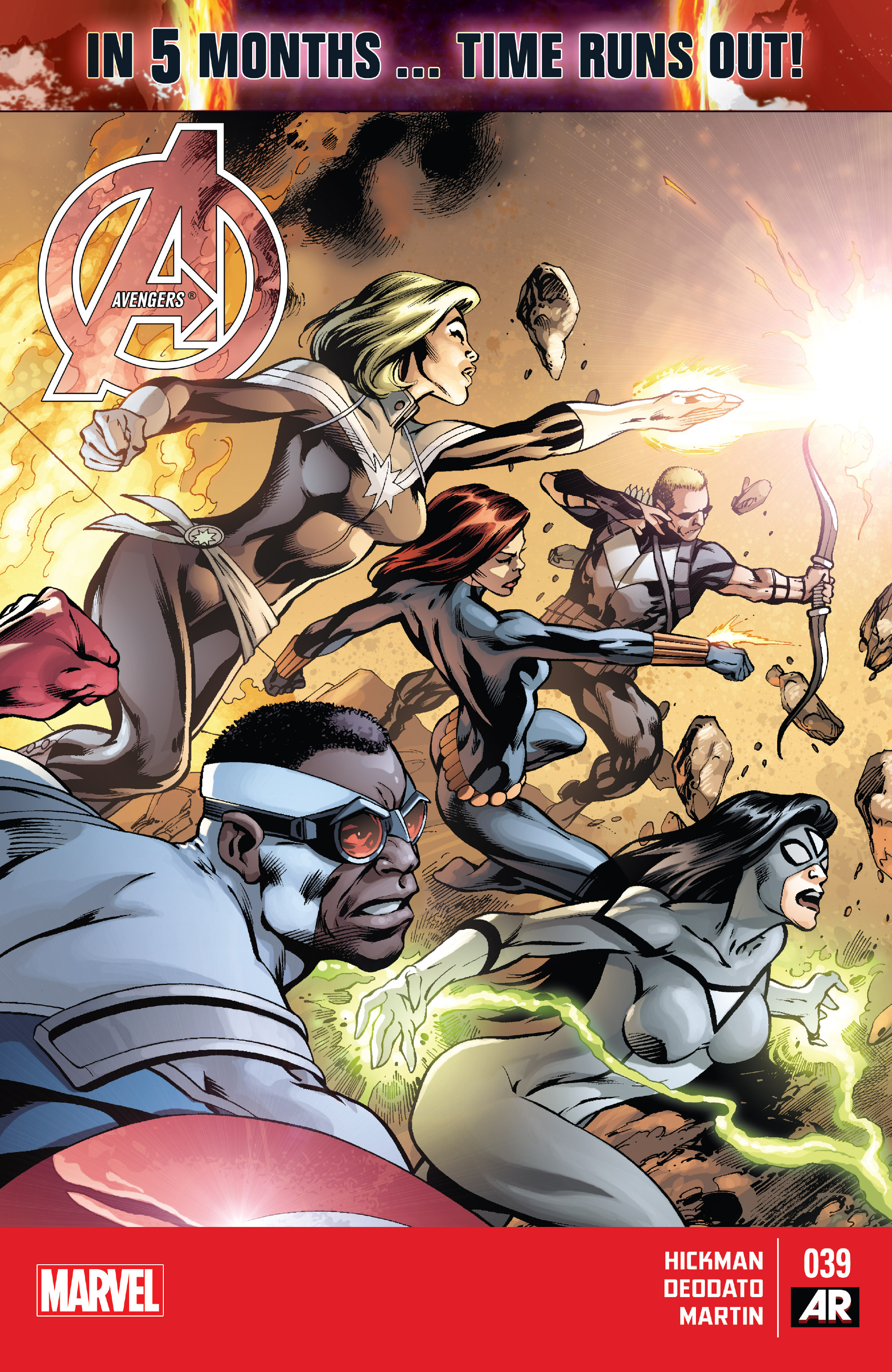 Read online Avengers (2013) comic -  Issue #39 - 1