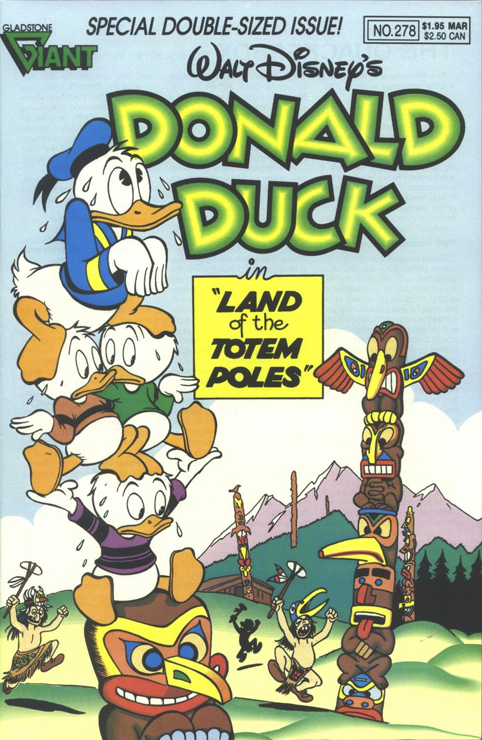 Walt Disneys Donald Duck (1986) issue 278 - Page 1