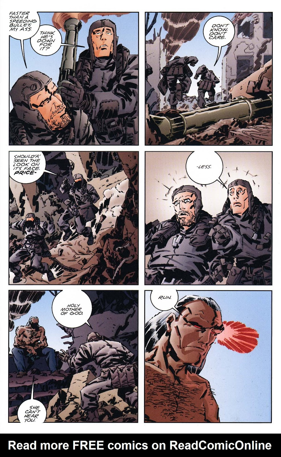 Read online Dominion (2002) comic -  Issue #1 - 5