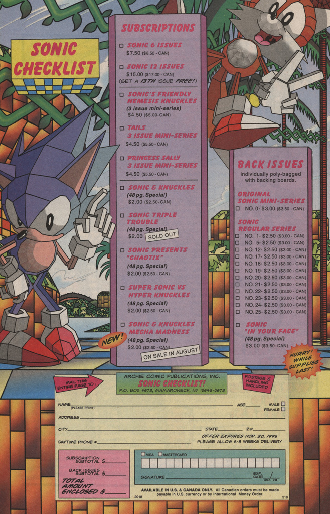 Read online Sonic Quest - The Death Egg Saga comic -  Issue #1 - 34