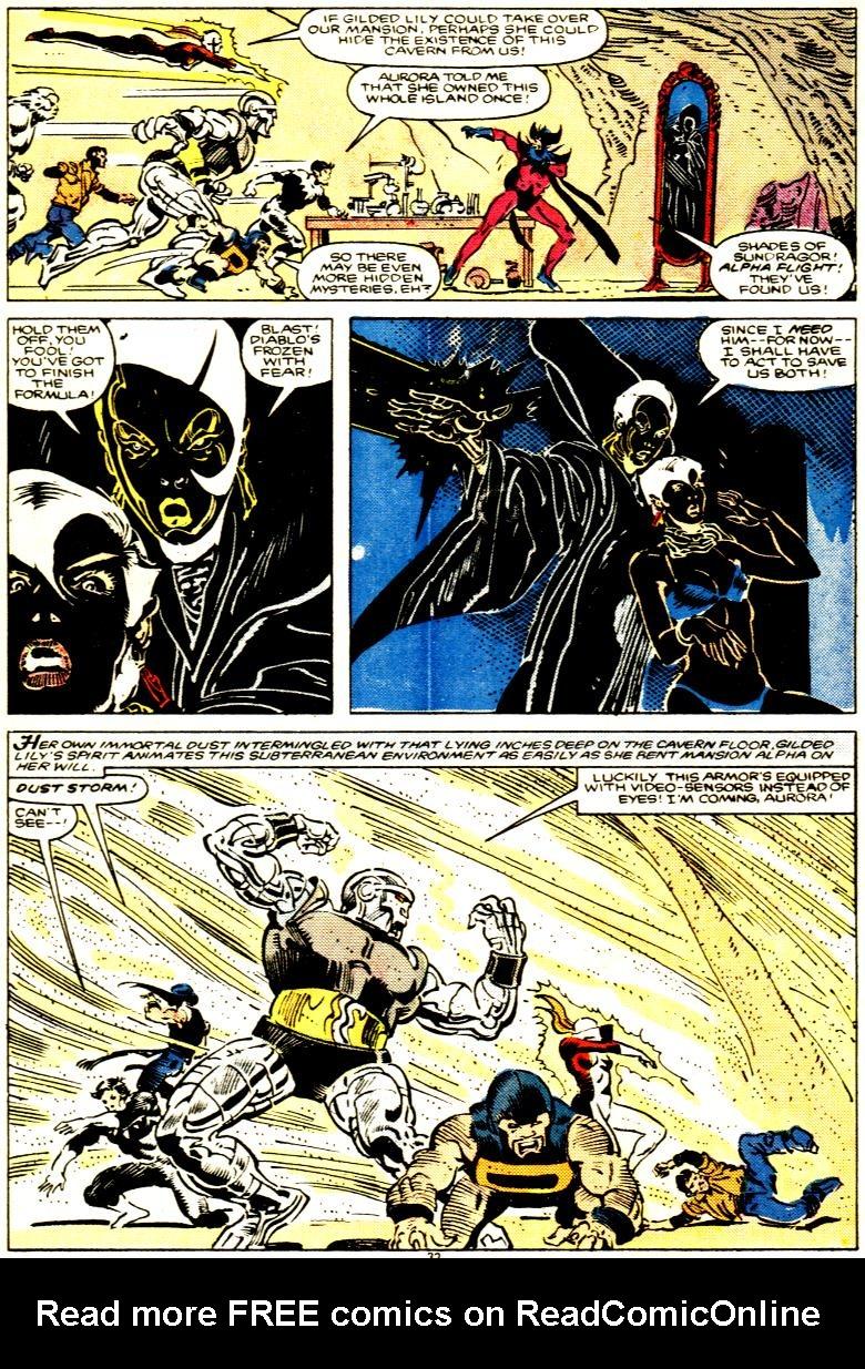 Read online Alpha Flight (1983) comic -  Issue # _Annual 1 - 33