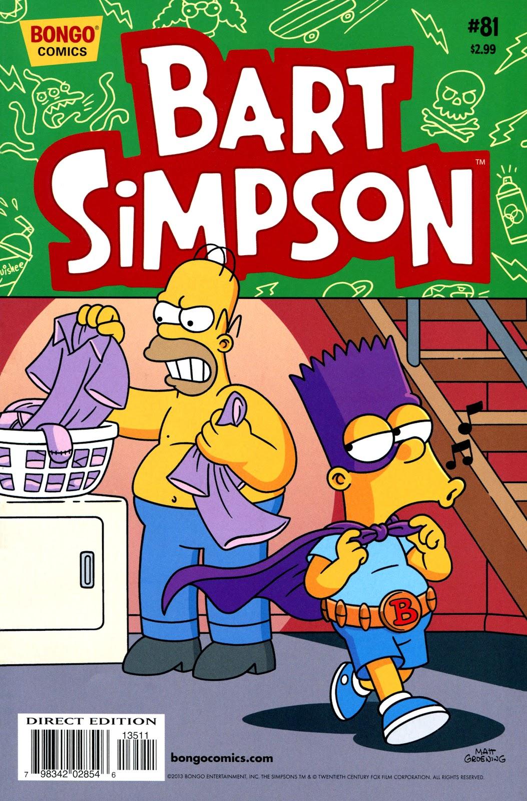 Simpsons Comics Presents Bart Simpson 81 Page 1