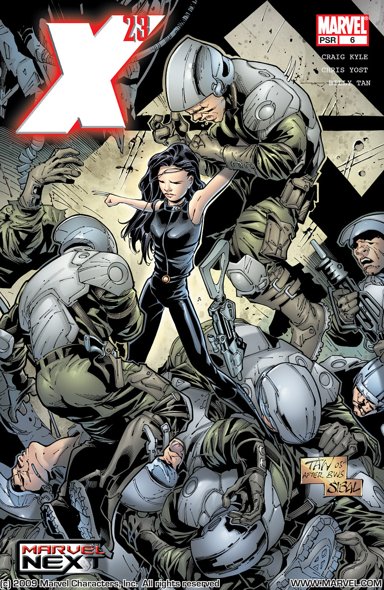 Read online X-23 (2005) comic -  Issue #6 - 1