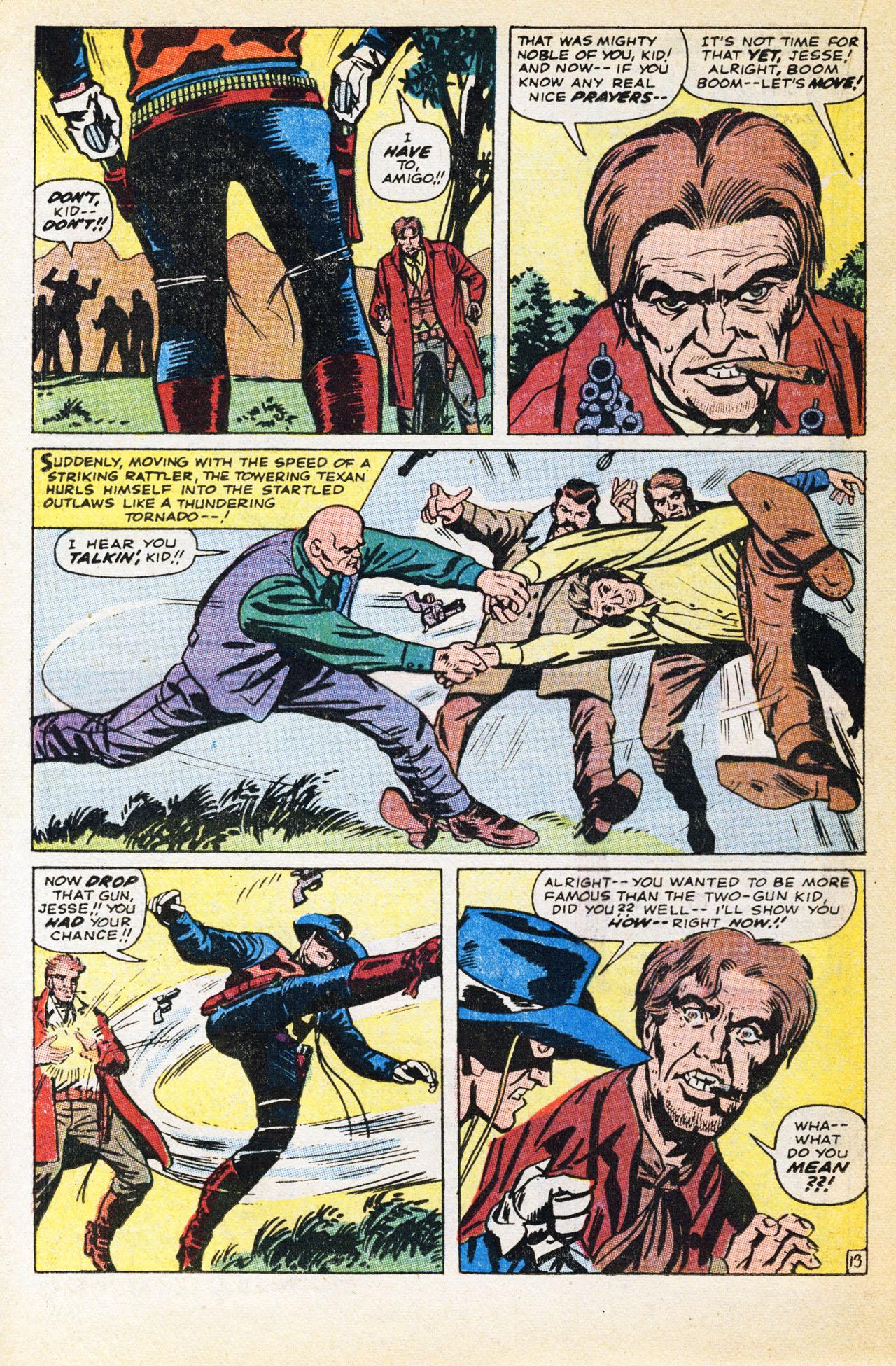 Read online Two-Gun Kid comic -  Issue #94 - 20