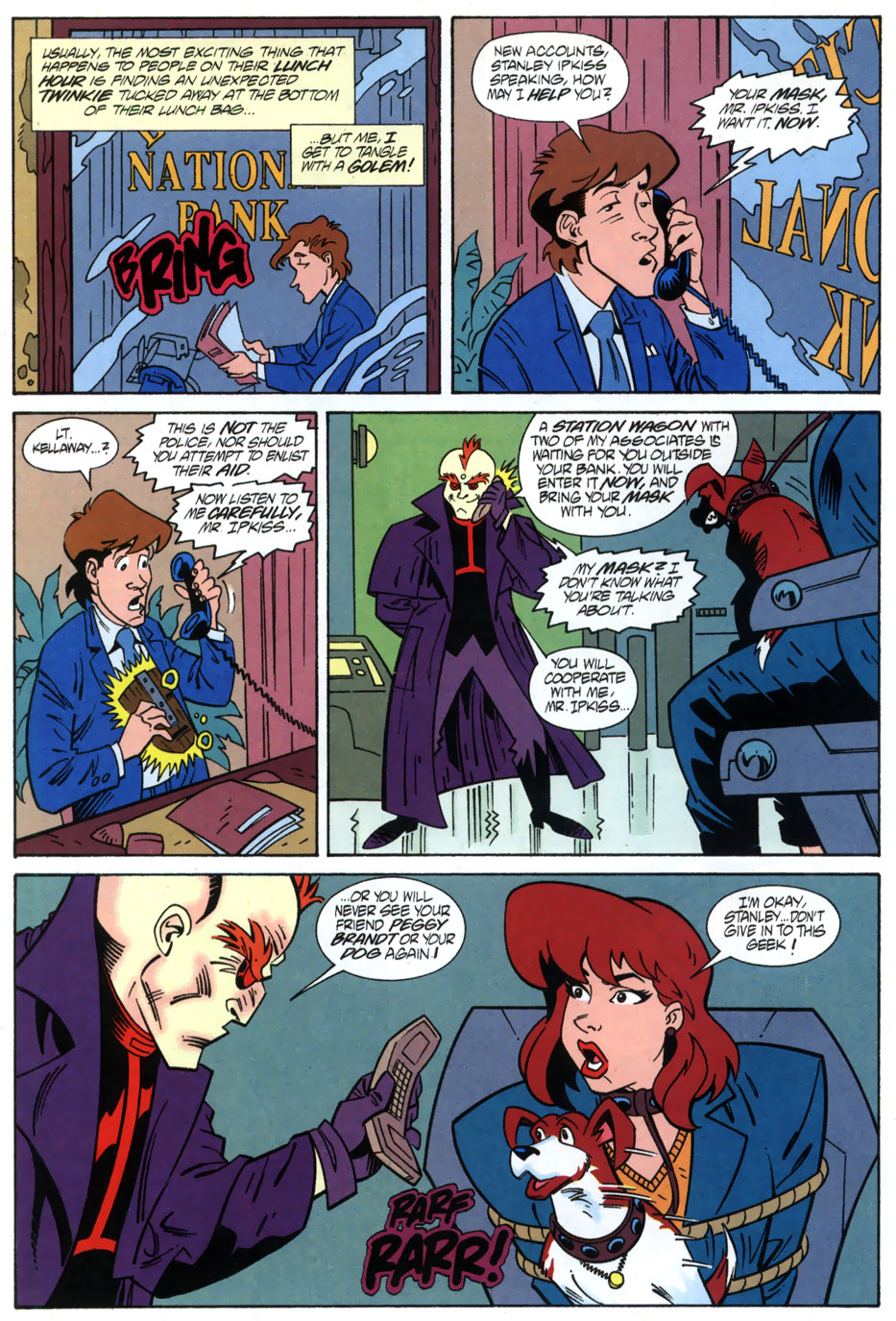 Read online Adventures Of The Mask comic -  Issue #2 - 12