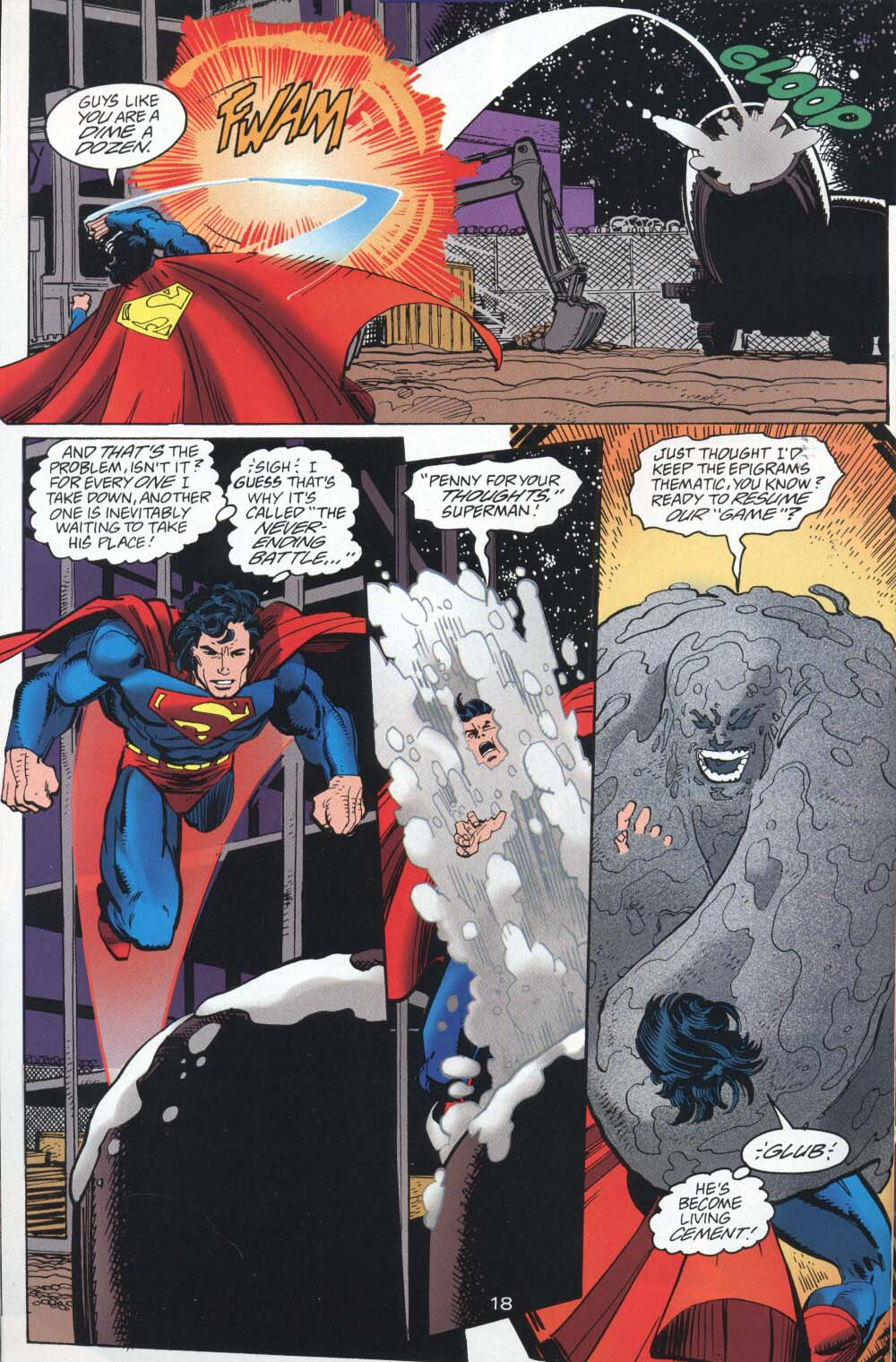 Read online Adventures of Superman (1987) comic -  Issue #539 - 19