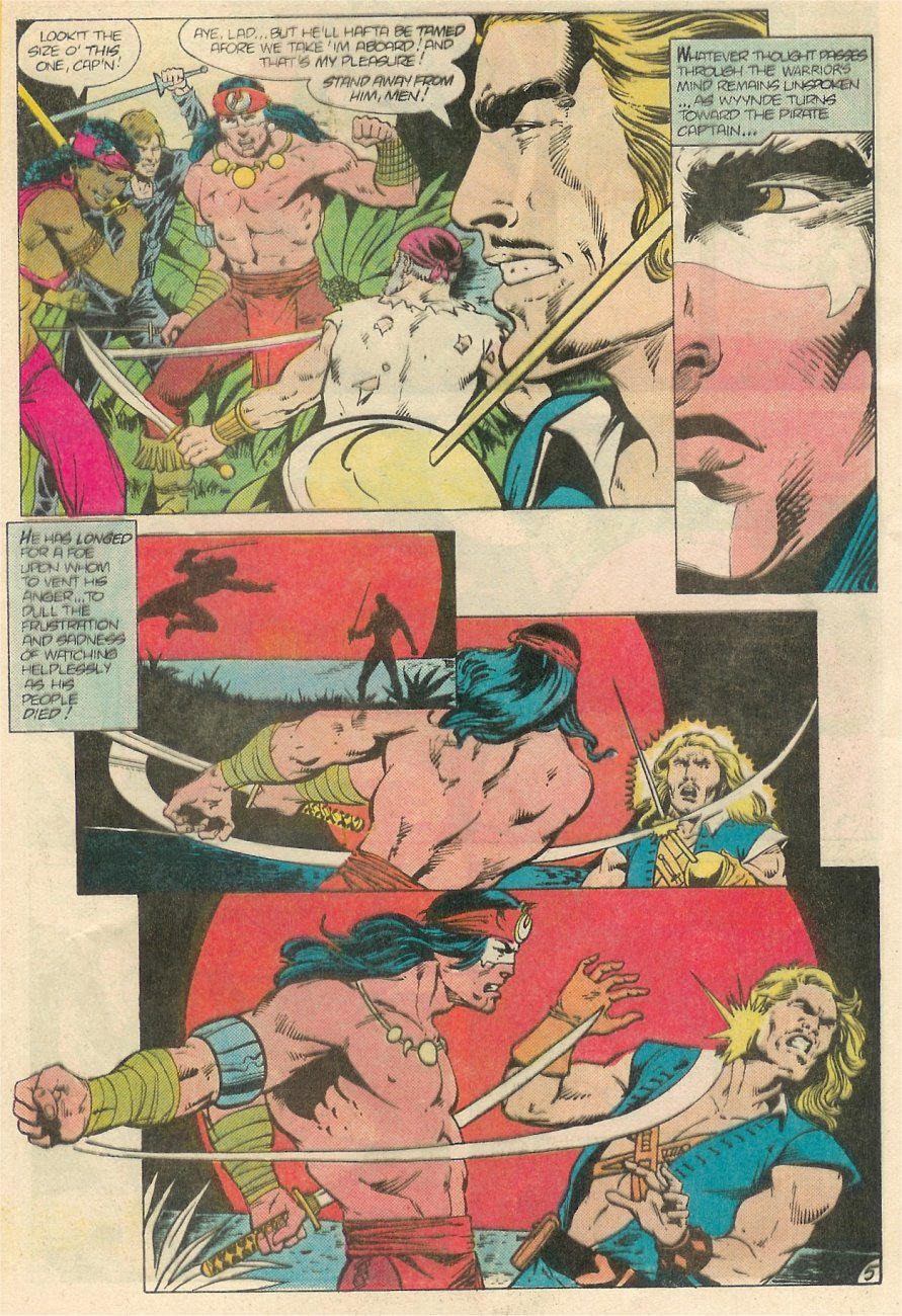 Read online Arion, Lord of Atlantis comic -  Issue #20 - 6