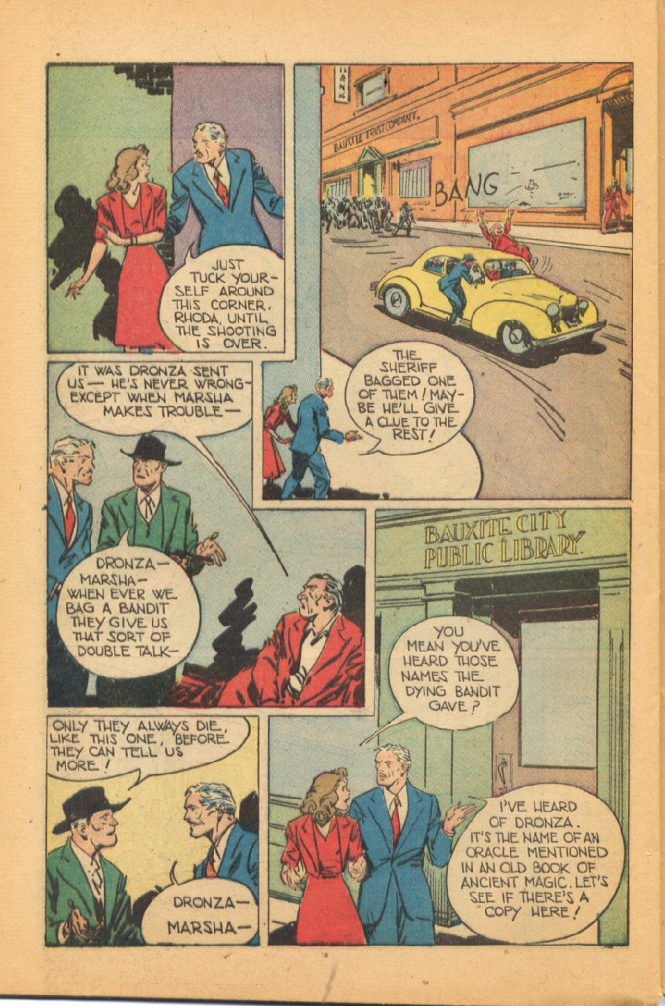Read online Super-Magician Comics comic -  Issue #44 - 44