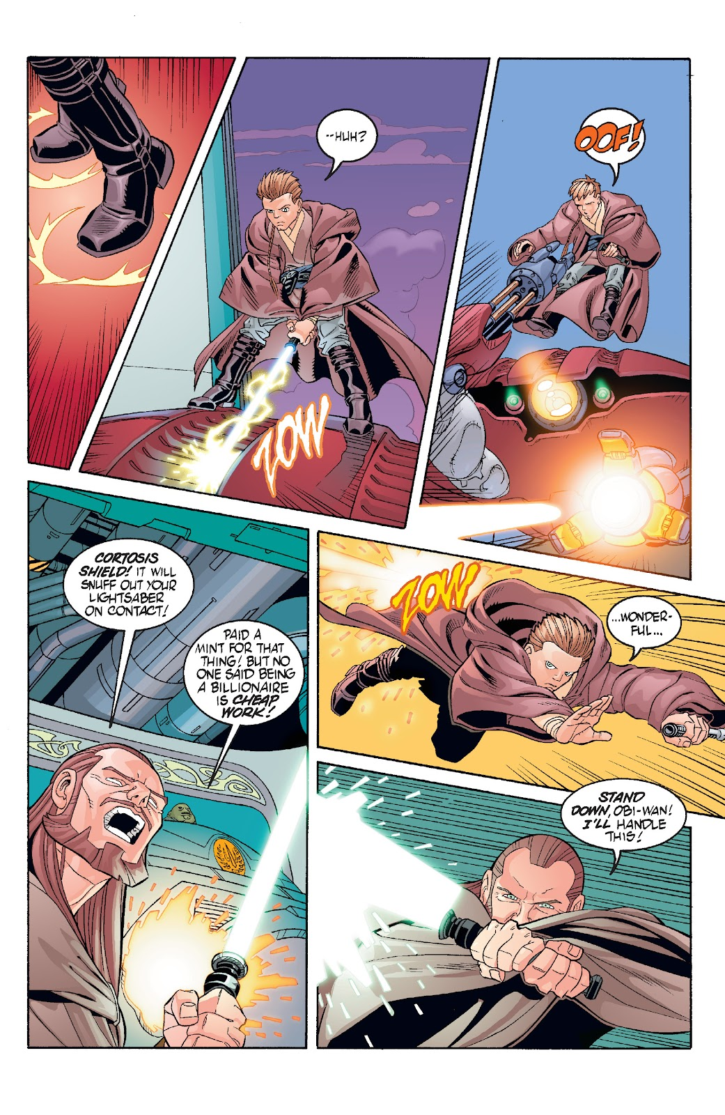 Read online Star Wars Legends: Rise of the Sith - Epic Collection comic -  Issue # TPB 1 (Part 3) - 66