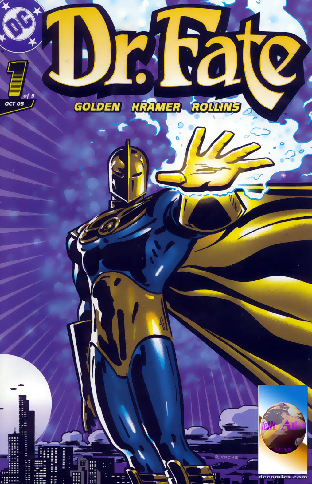 Read online Doctor Fate (2003) comic -  Issue #1 - 1