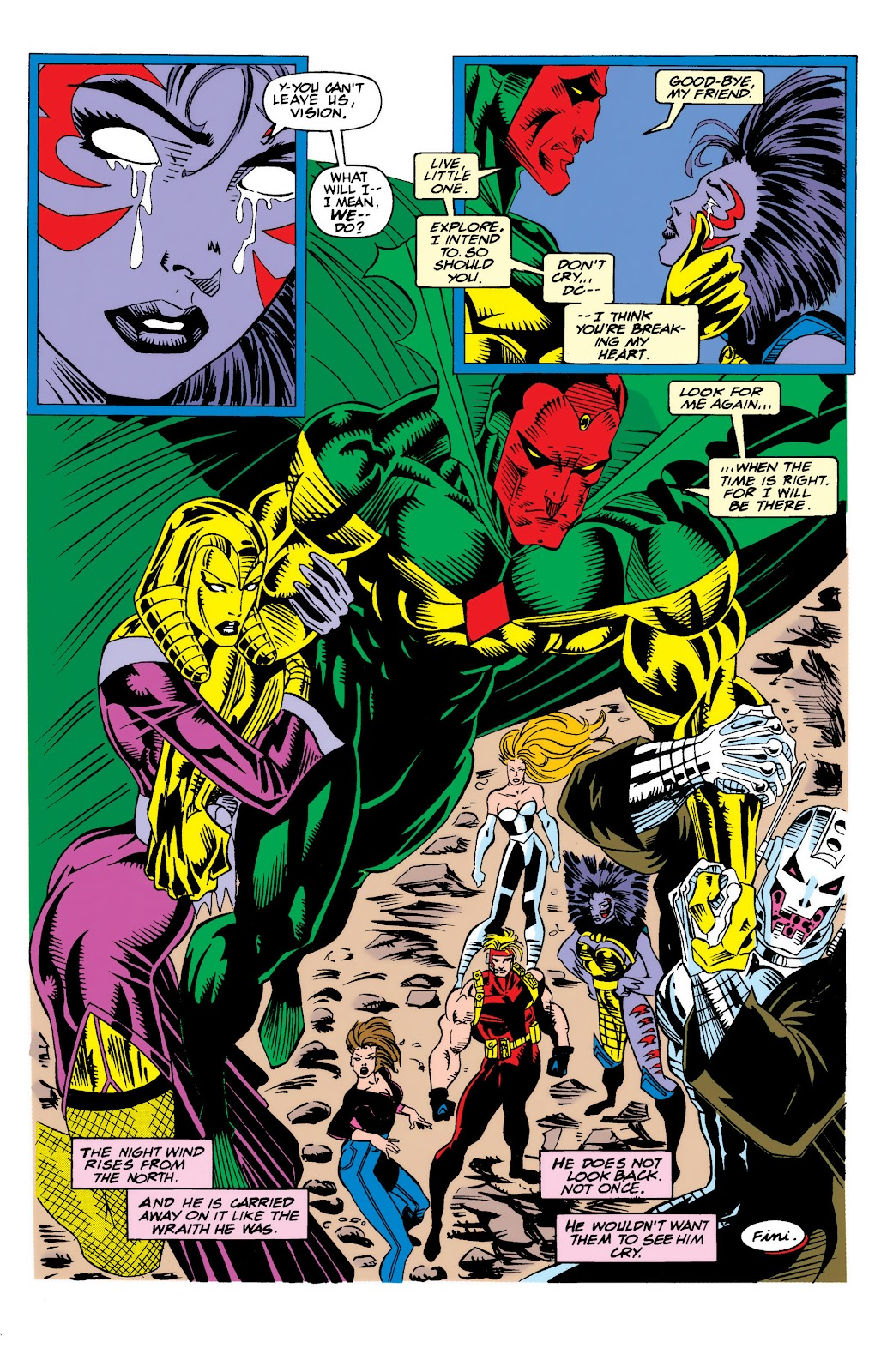 Read online The Vision comic -  Issue #4 - 24