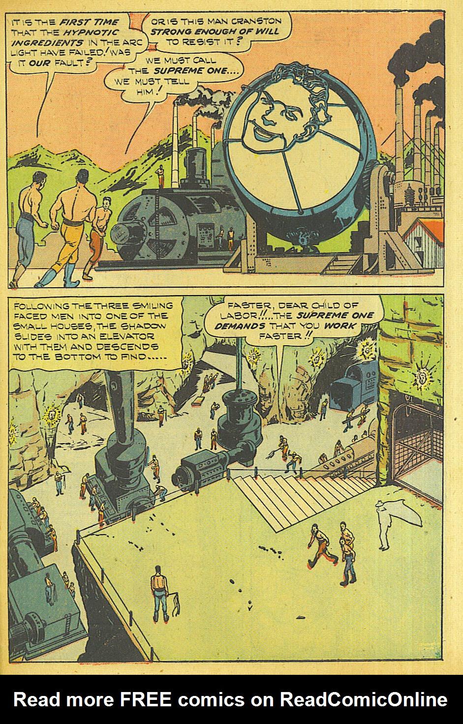Read online Shadow Comics comic -  Issue #87 - 42