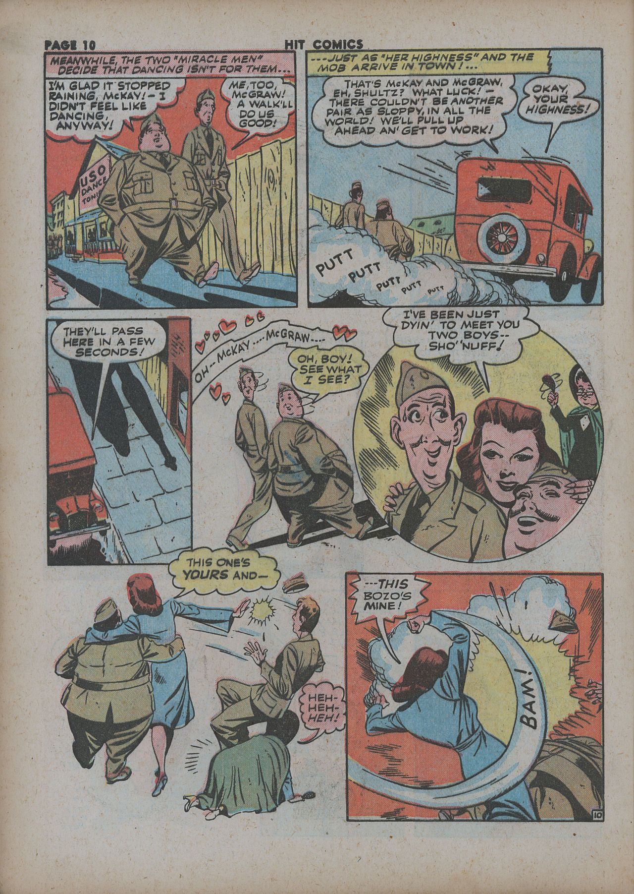 Read online Hit Comics comic -  Issue #27 - 12